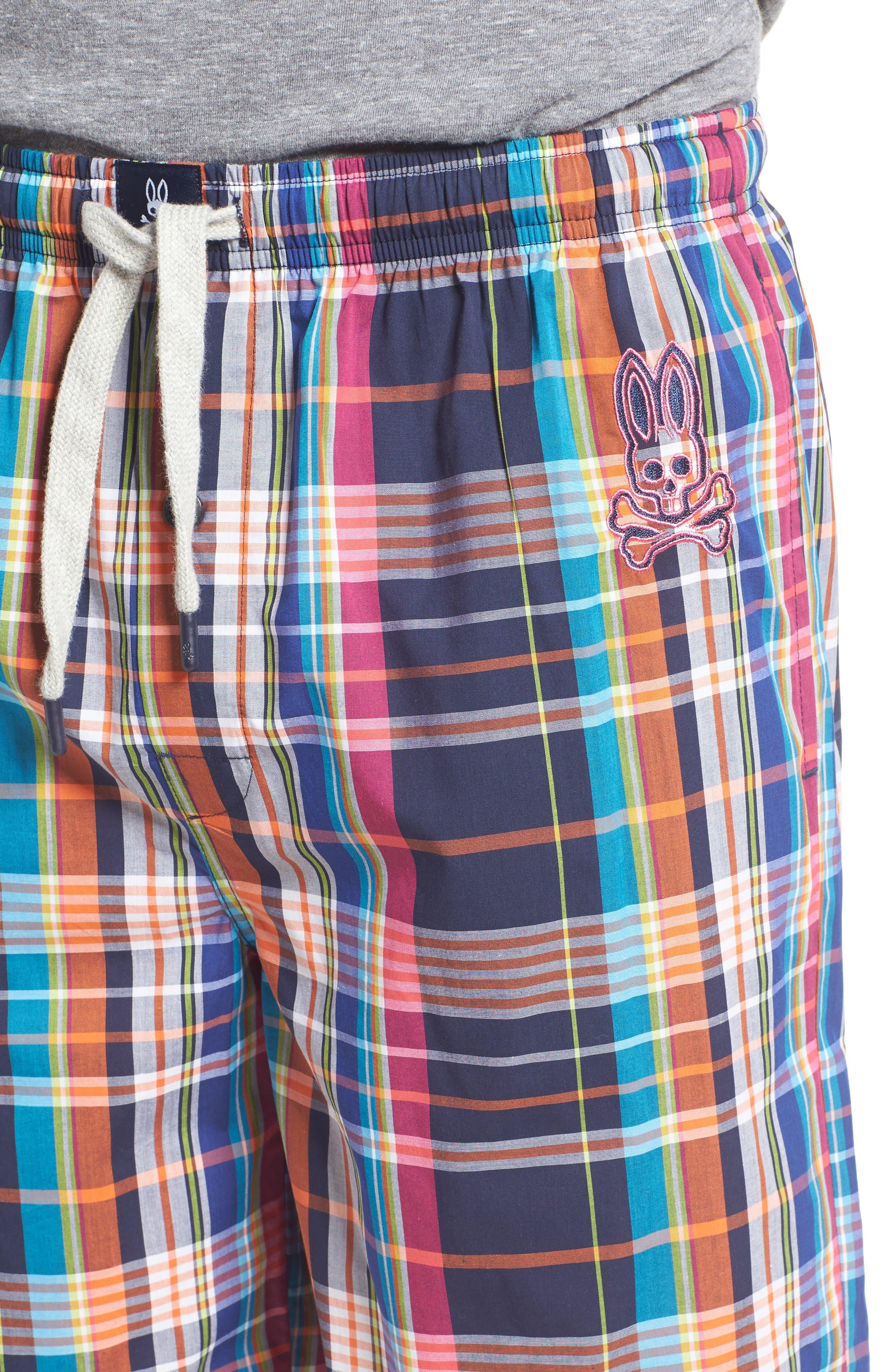 Cotton Lounge Shorts,                             Alternate thumbnail 4, color,                             001