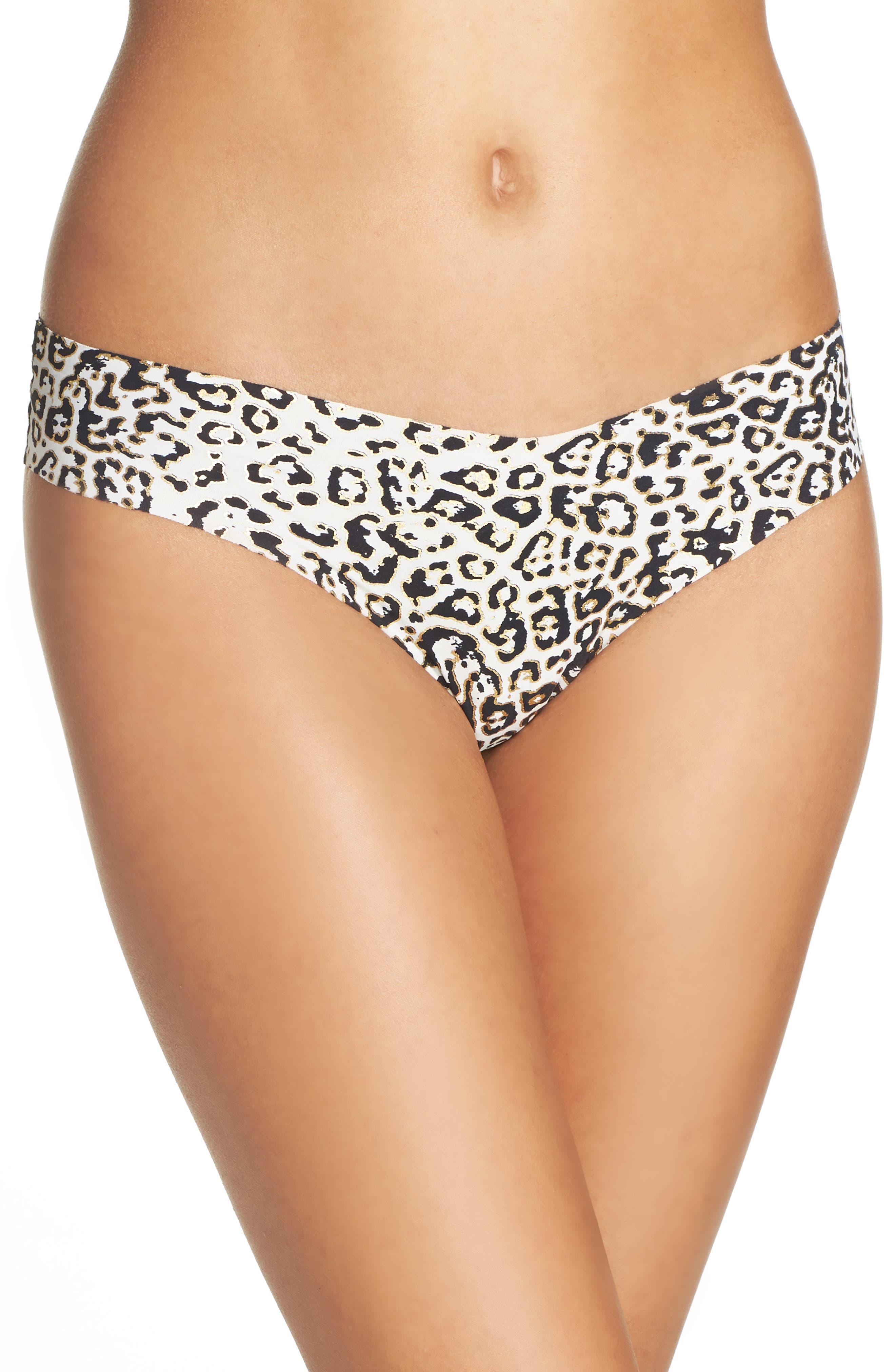 Print Microfiber Thong,                             Alternate thumbnail 186, color,