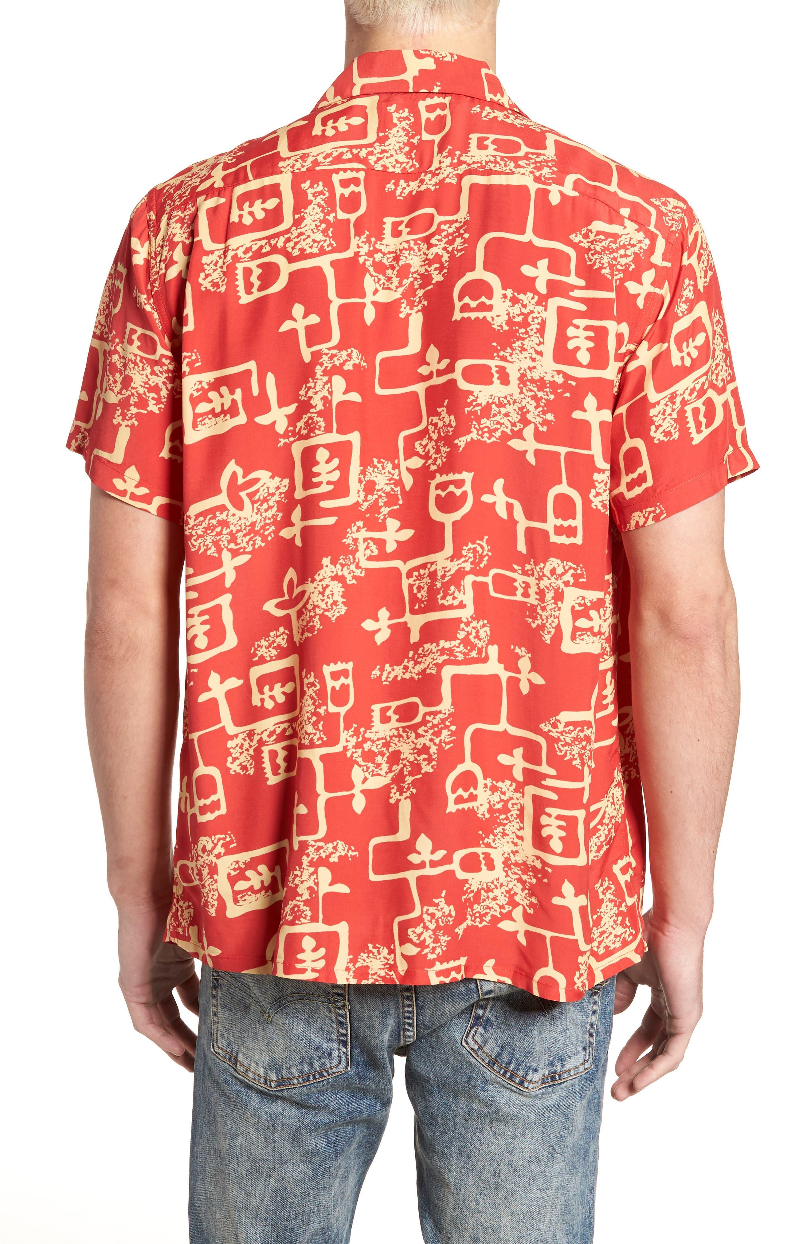 1940's Hawaiian Shirt,                             Alternate thumbnail 2, color,
