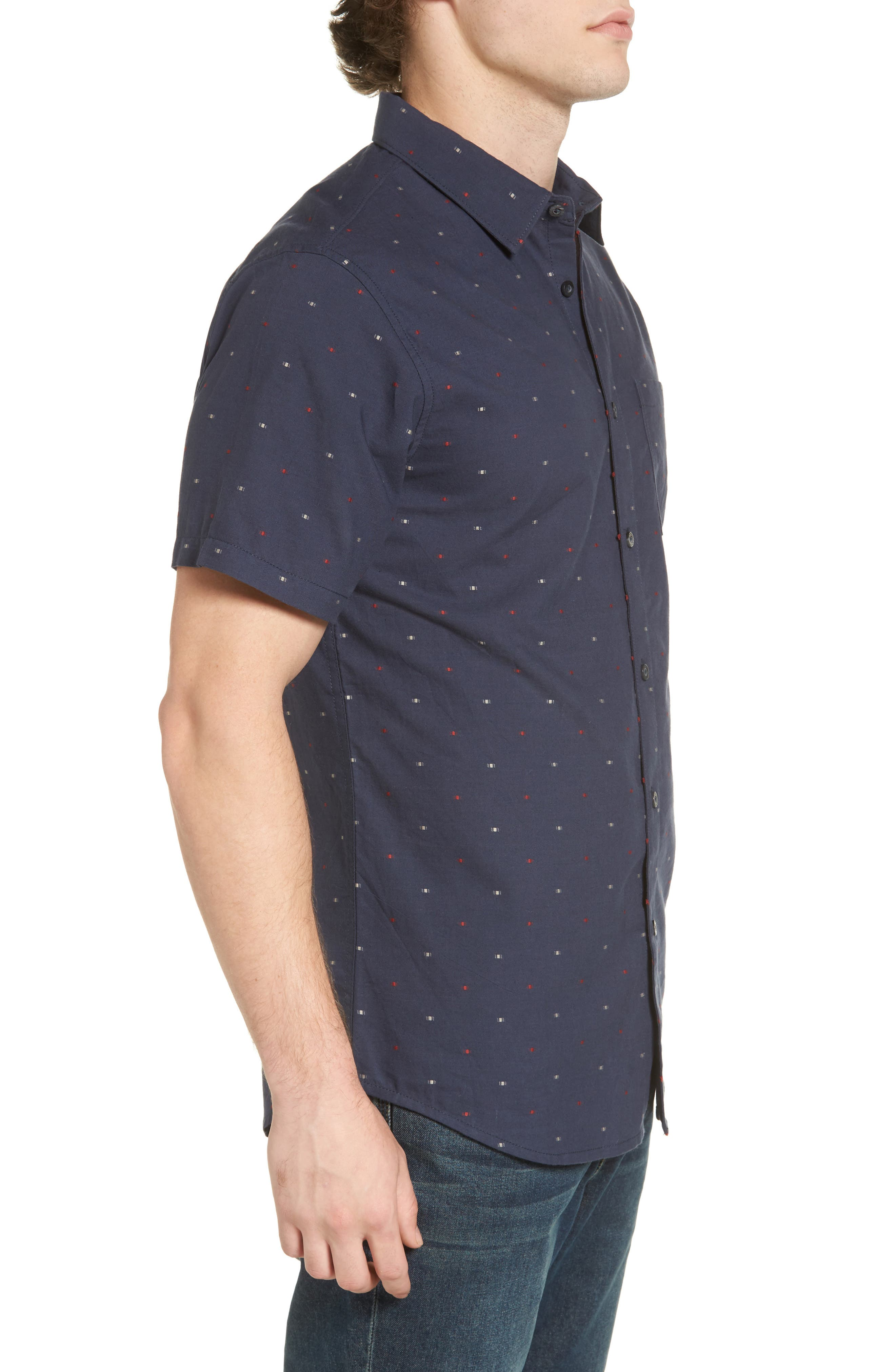 Cruisin Dobby Woven Shirt,                             Alternate thumbnail 6, color,