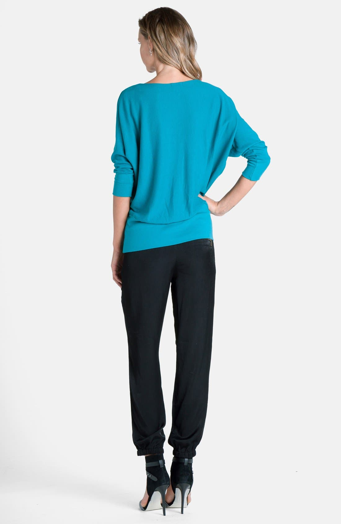 'Aidan' Drape Neck Thermal Top,                             Alternate thumbnail 19, color,