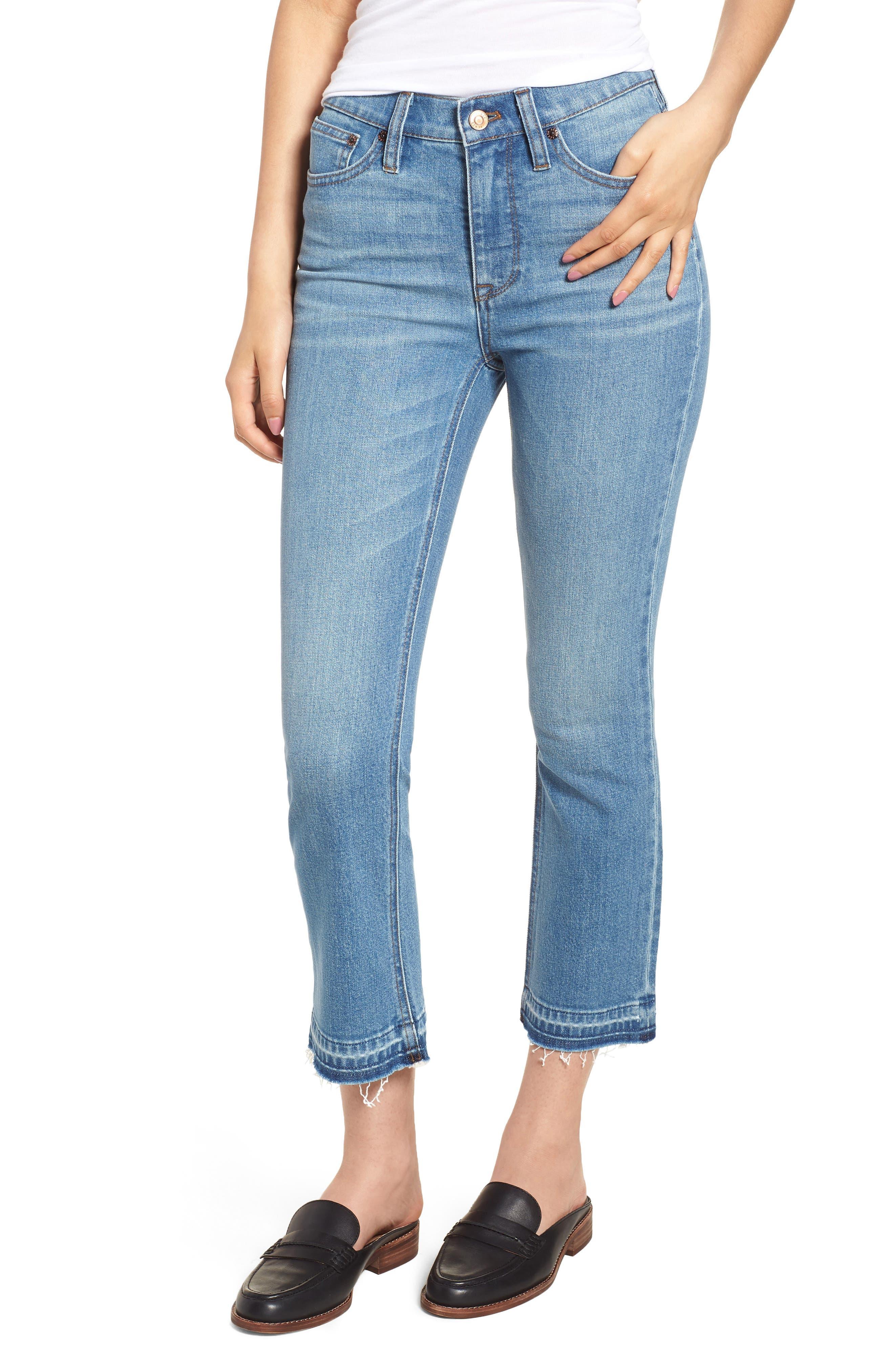 Billie Demi Boot Crop Jeans,                             Main thumbnail 1, color,                             400