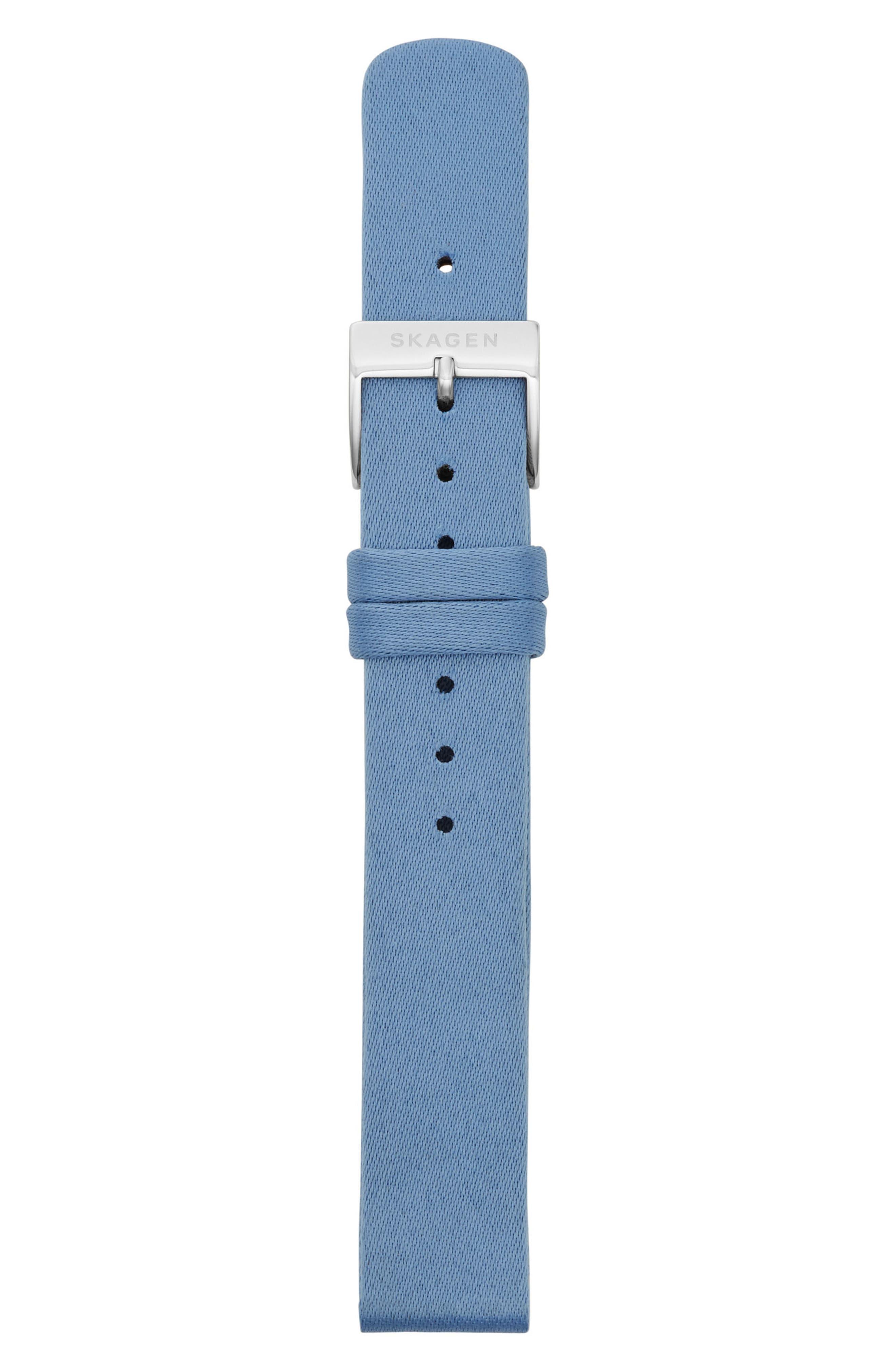 Satin Watch Strap, 14mm,                             Alternate thumbnail 2, color,