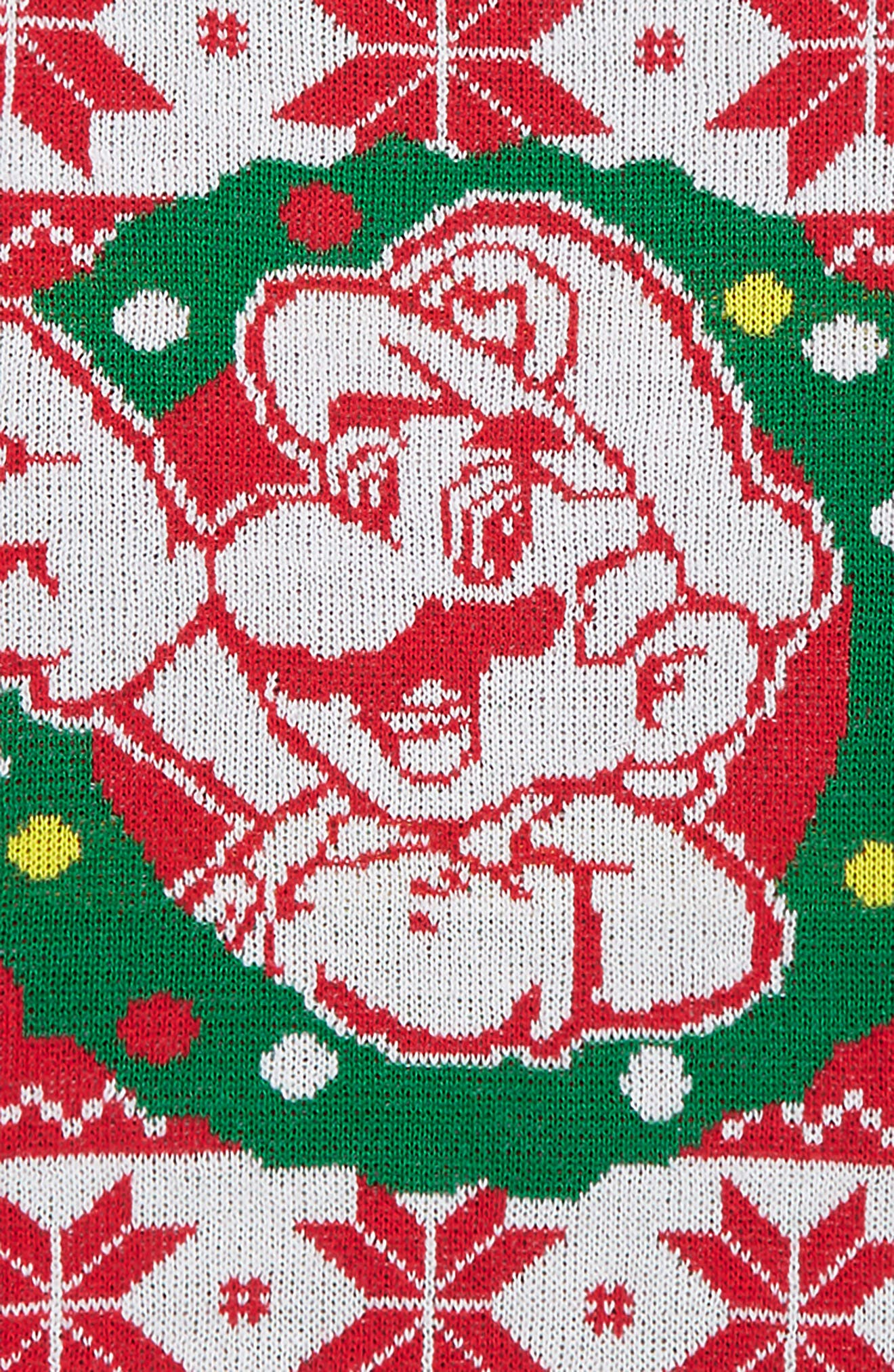 x Nintendo Super Mario<sup>™</sup> Holiday Sweater,                             Alternate thumbnail 2, color,                             RED