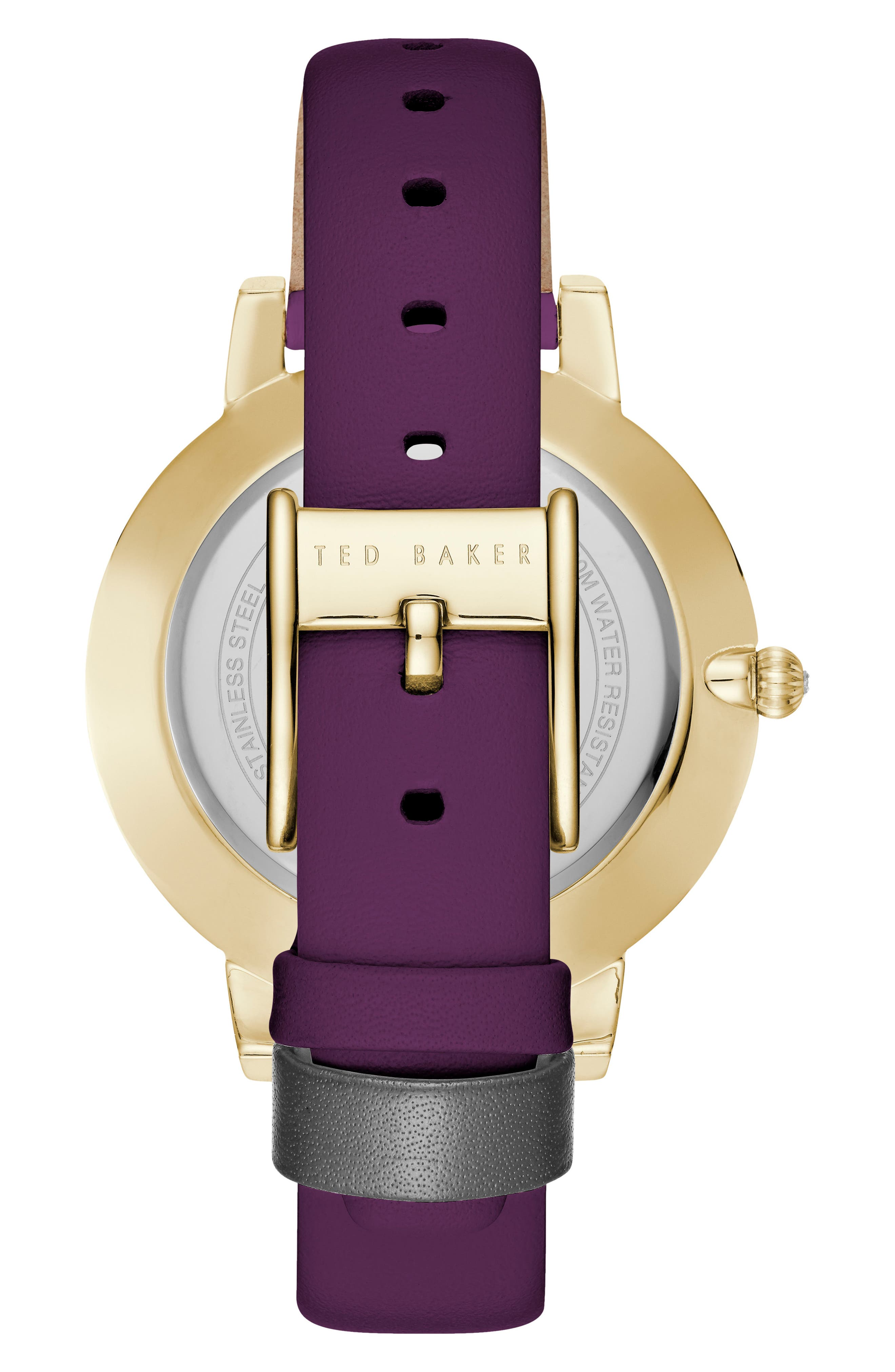Kate Leather Strap Watch, 38mm,                             Alternate thumbnail 5, color,