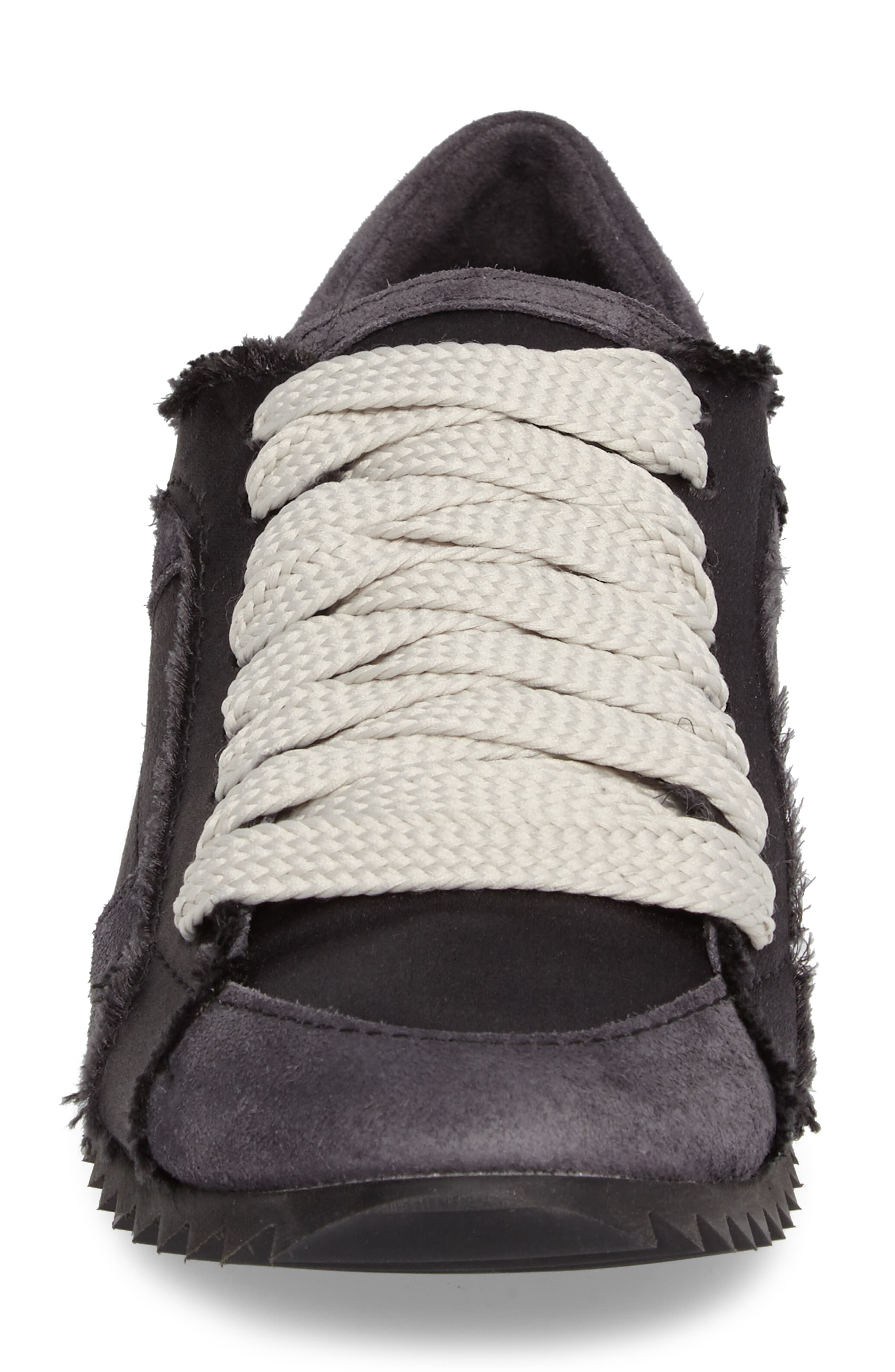Cristina Trainer Sneaker,                             Alternate thumbnail 4, color,                             001