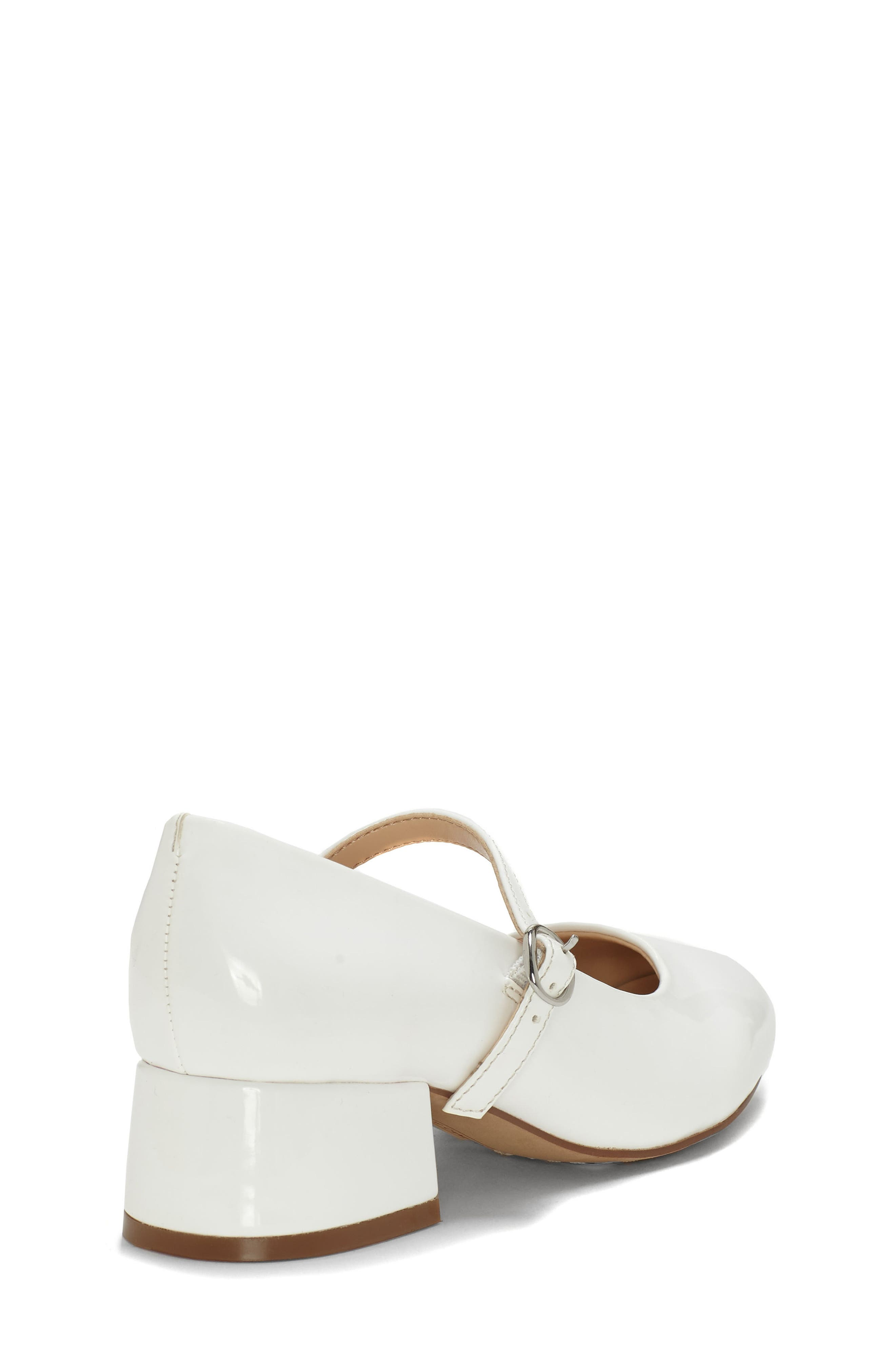 VINCE CAMUTO,                             Brenna Mary Jane Pump,                             Alternate thumbnail 4, color,                             WHITE