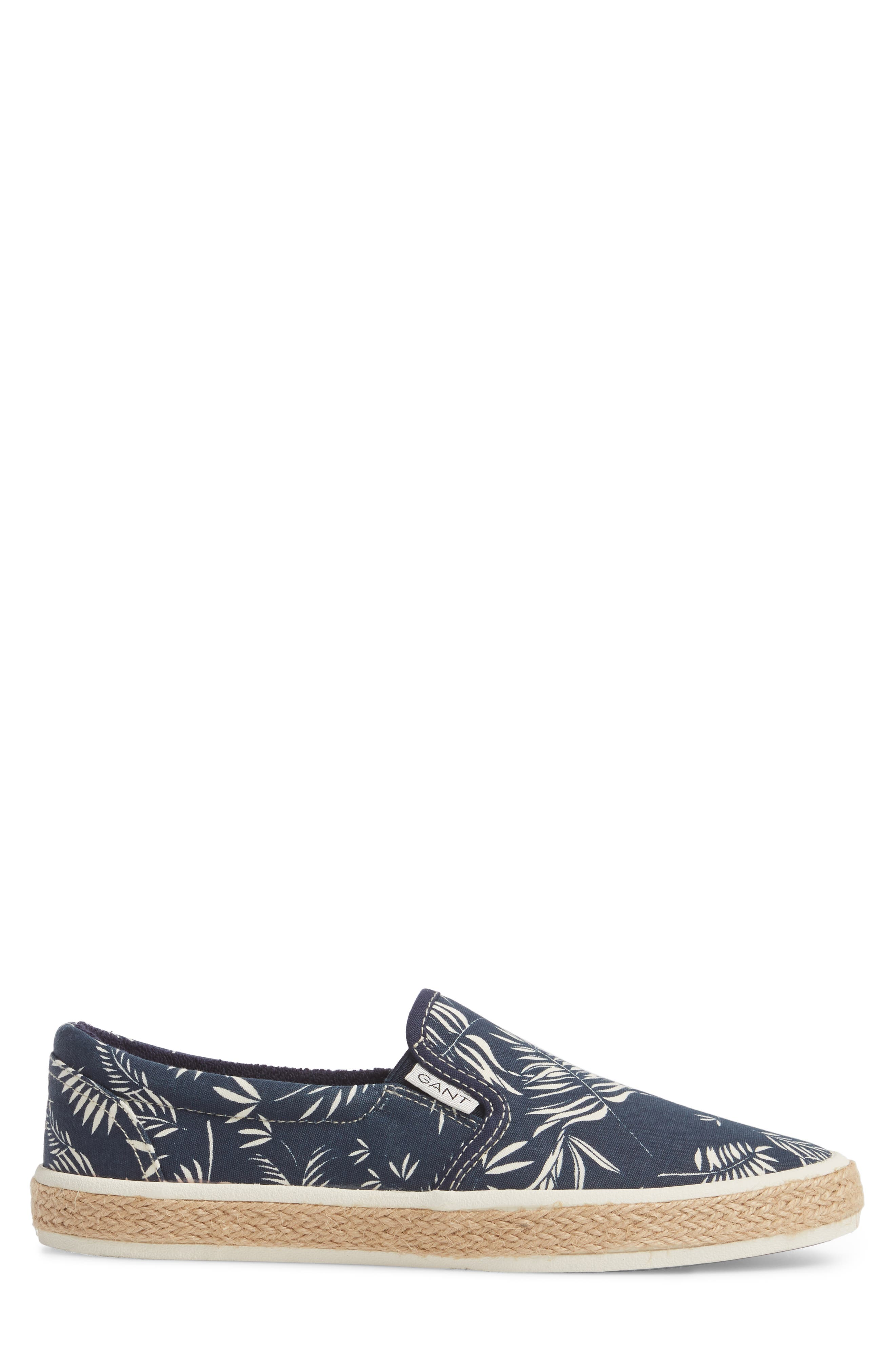 Master Espadrille Slip-On Sneaker,                             Alternate thumbnail 3, color,                             MULTI BLUE