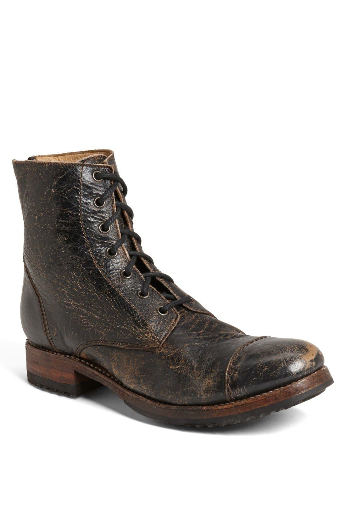 'Protégé' Cap Toe Boot, Main, color, 001