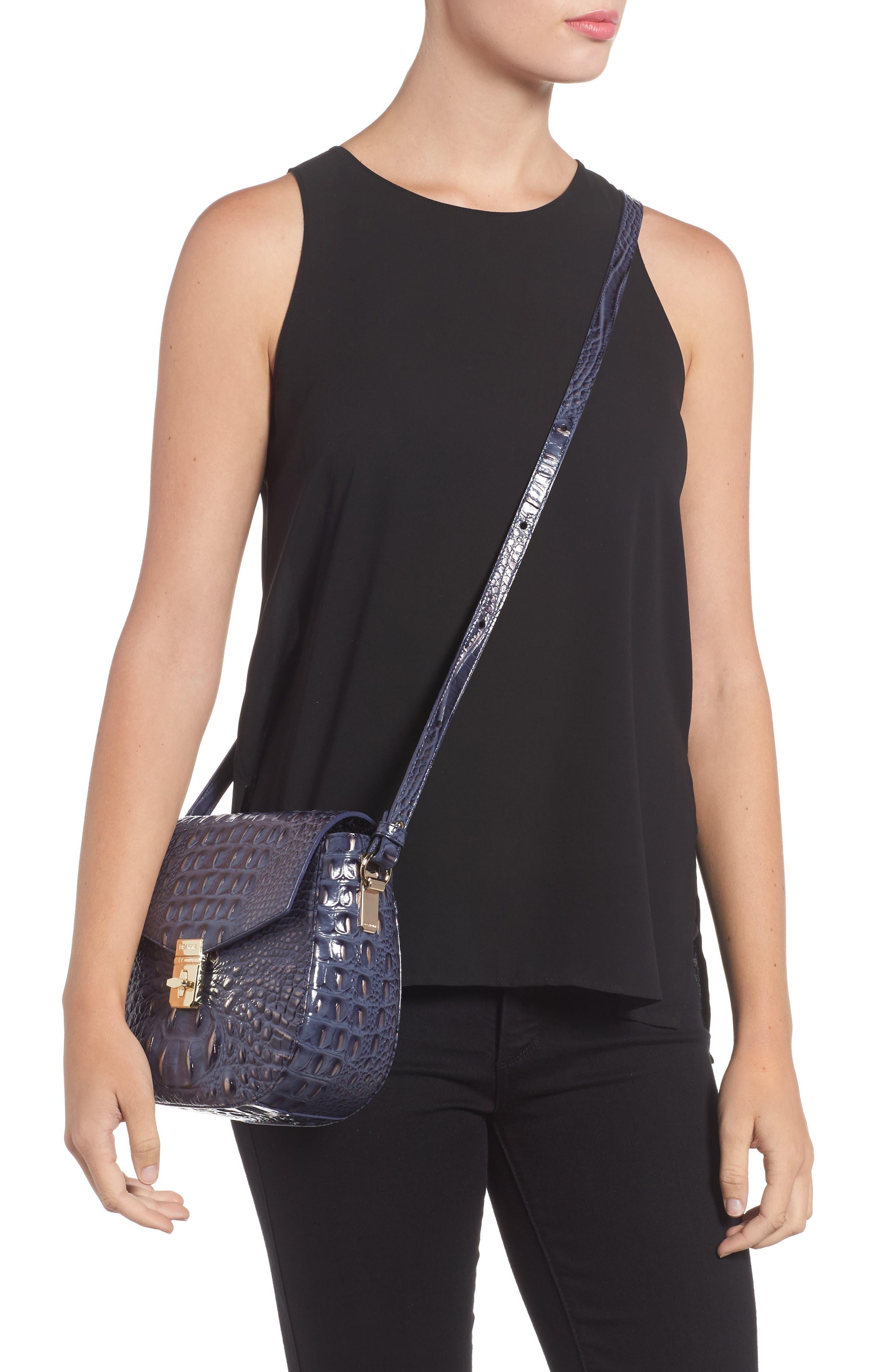 Melbourne - Lizzie Leather Crossbody Bag,                             Alternate thumbnail 9, color,