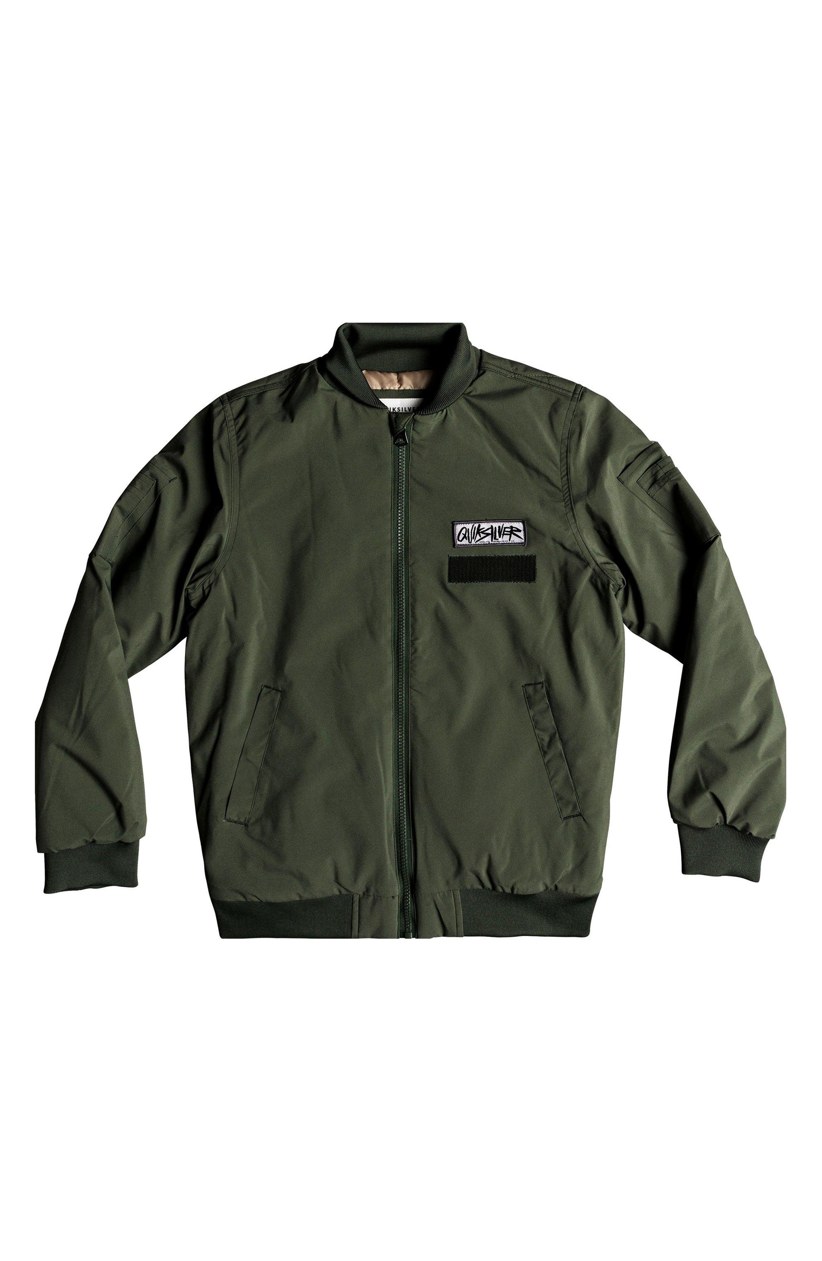 Mankai Sun Bomber Jacket,                             Main thumbnail 1, color,                             THYME