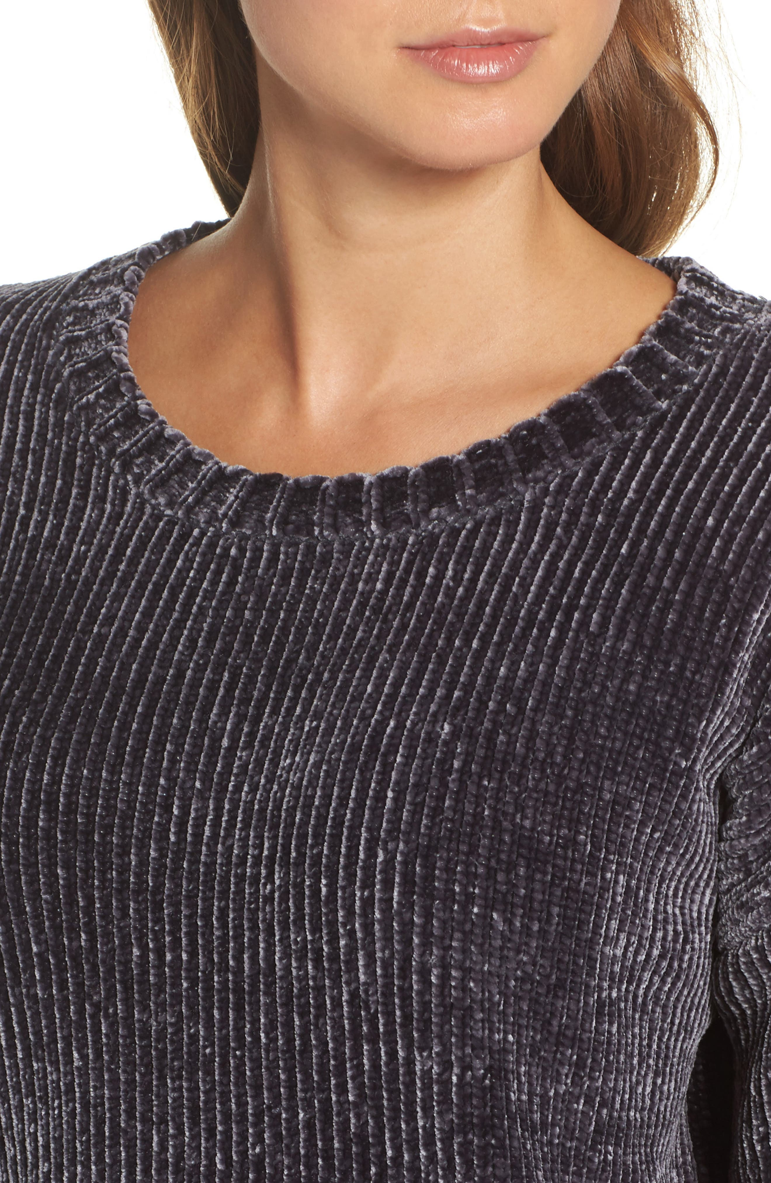 Chenille Sweater,                             Alternate thumbnail 4, color,                             030