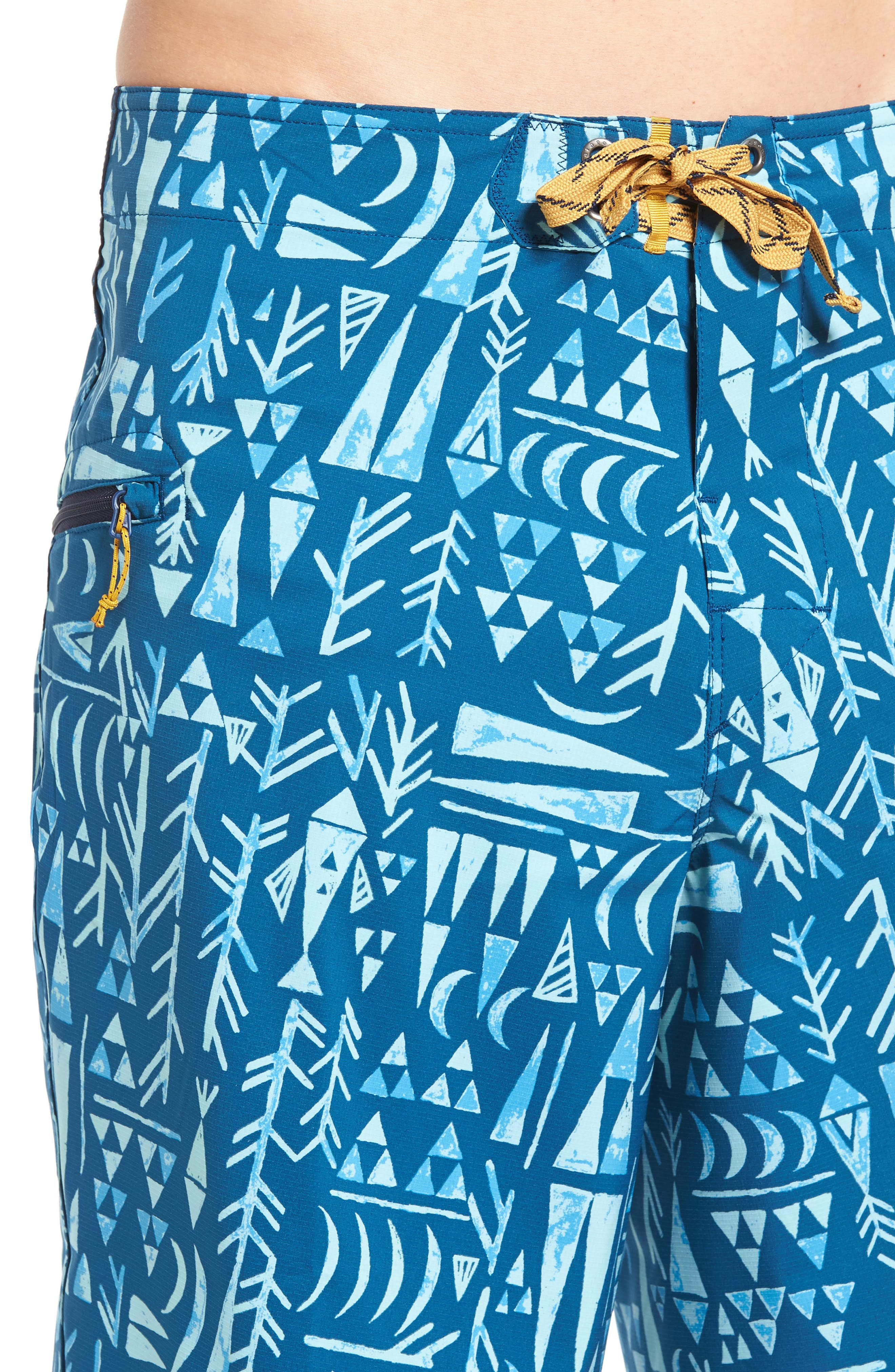 Stretch Planing Board Shorts,                             Alternate thumbnail 21, color,