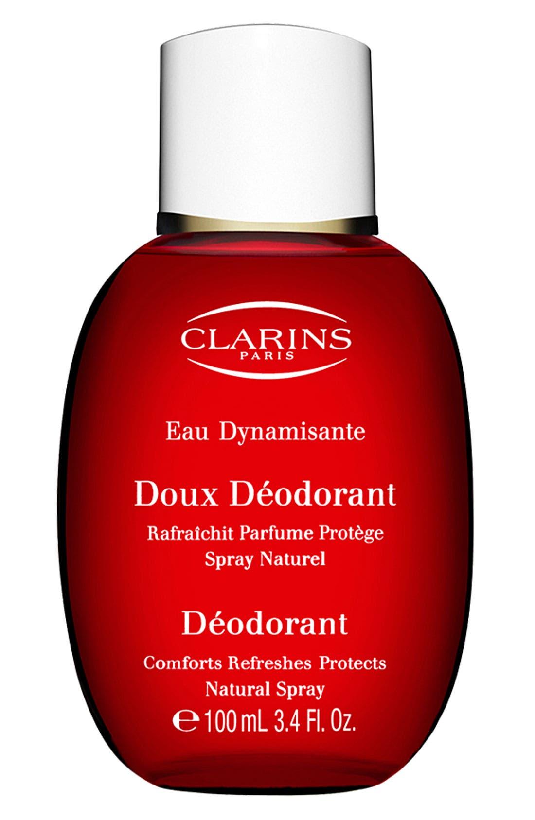 CLARINS,                             Eau Dynamisante Deodorant,                             Main thumbnail 1, color,                             NO COLOR