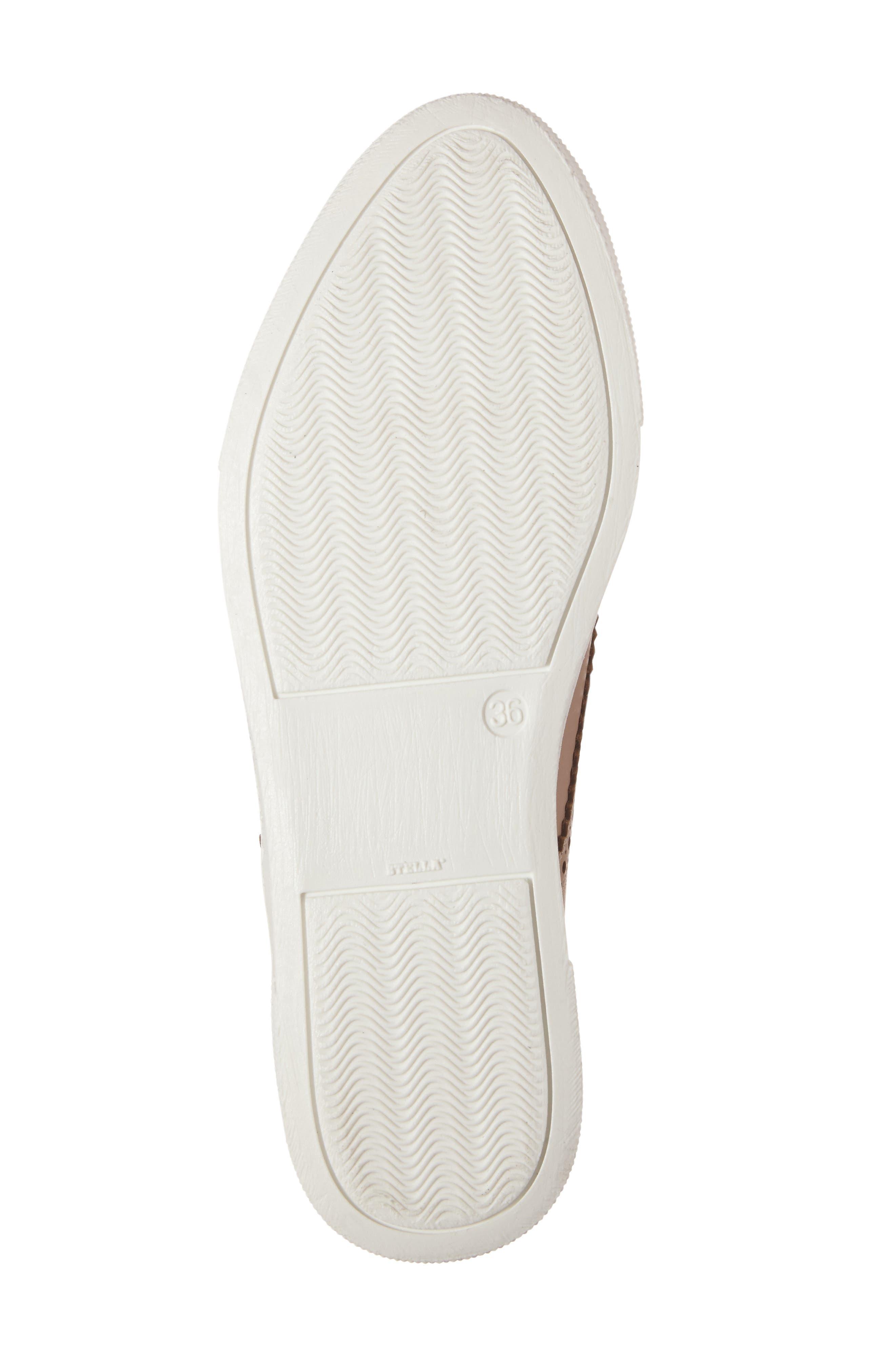 Kimmie Perforated Platform Sneaker,                             Alternate thumbnail 16, color,