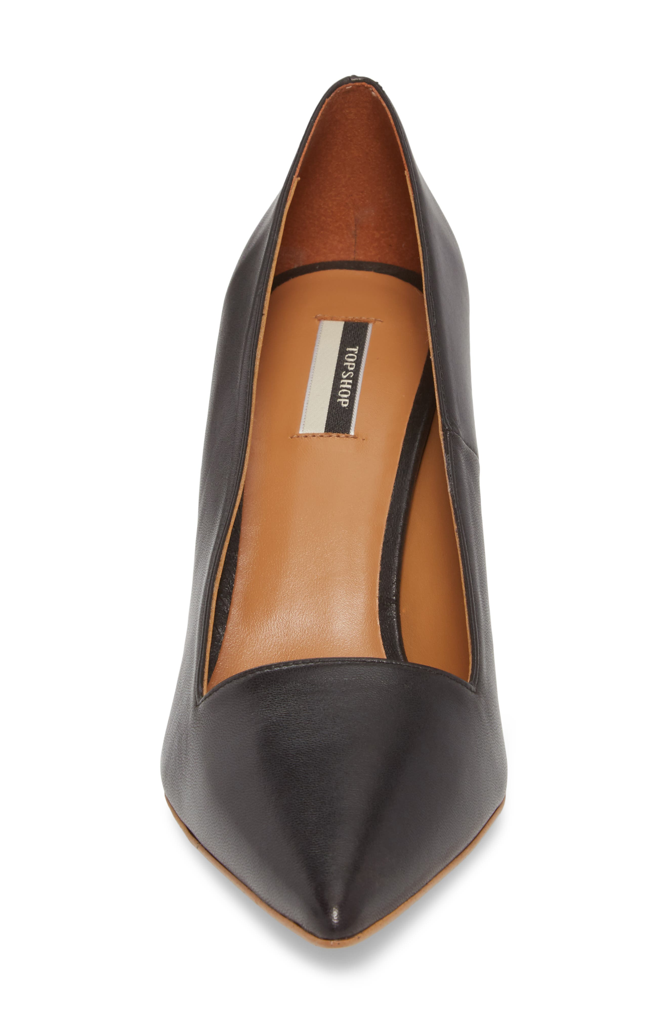 Jubilee Pointy Toe Pump,                             Alternate thumbnail 4, color,                             BLACK MULTI