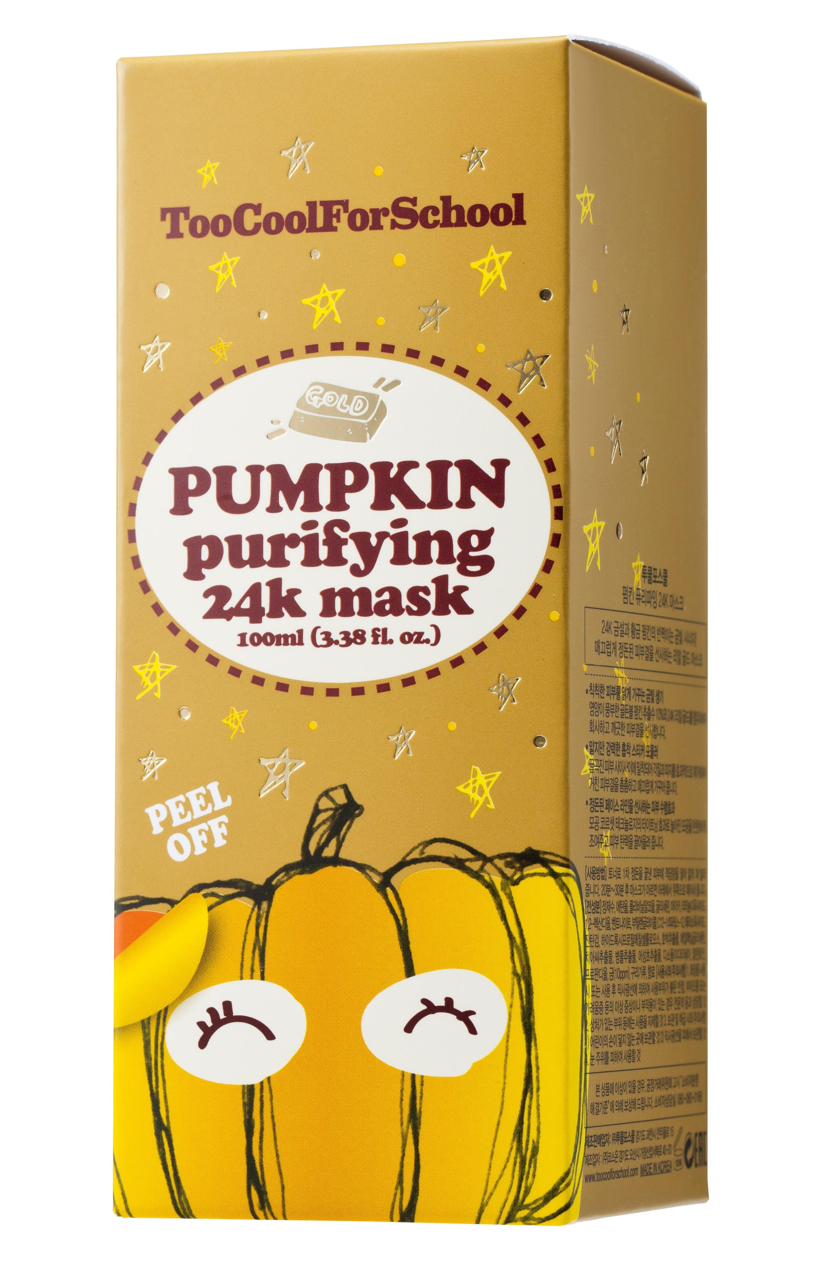 Pumpkin Purifying 24K Peel-Off Mask,                             Alternate thumbnail 3, color,                             NO COLOR