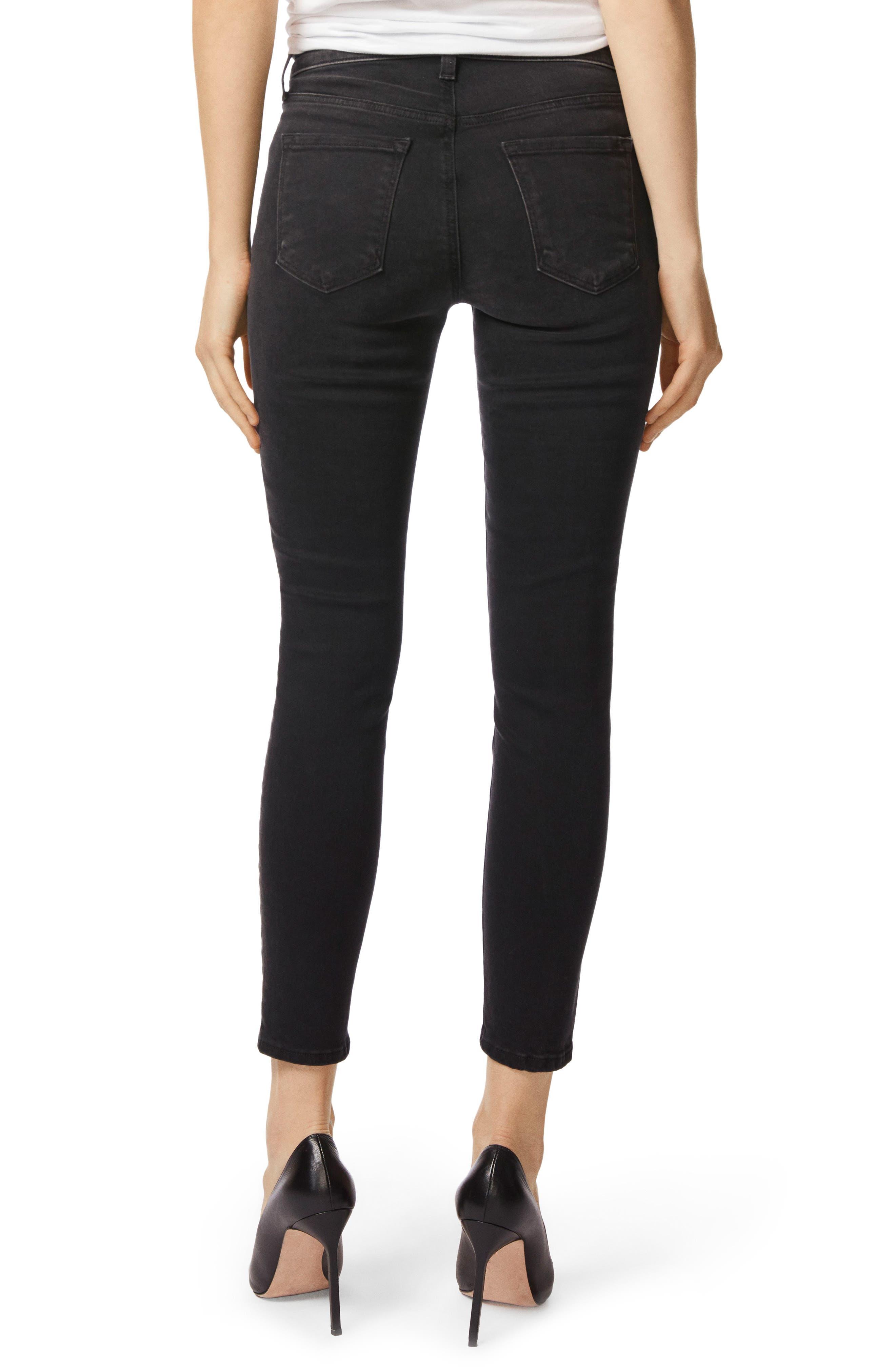Capri Skinny Jeans,                             Alternate thumbnail 2, color,                             001