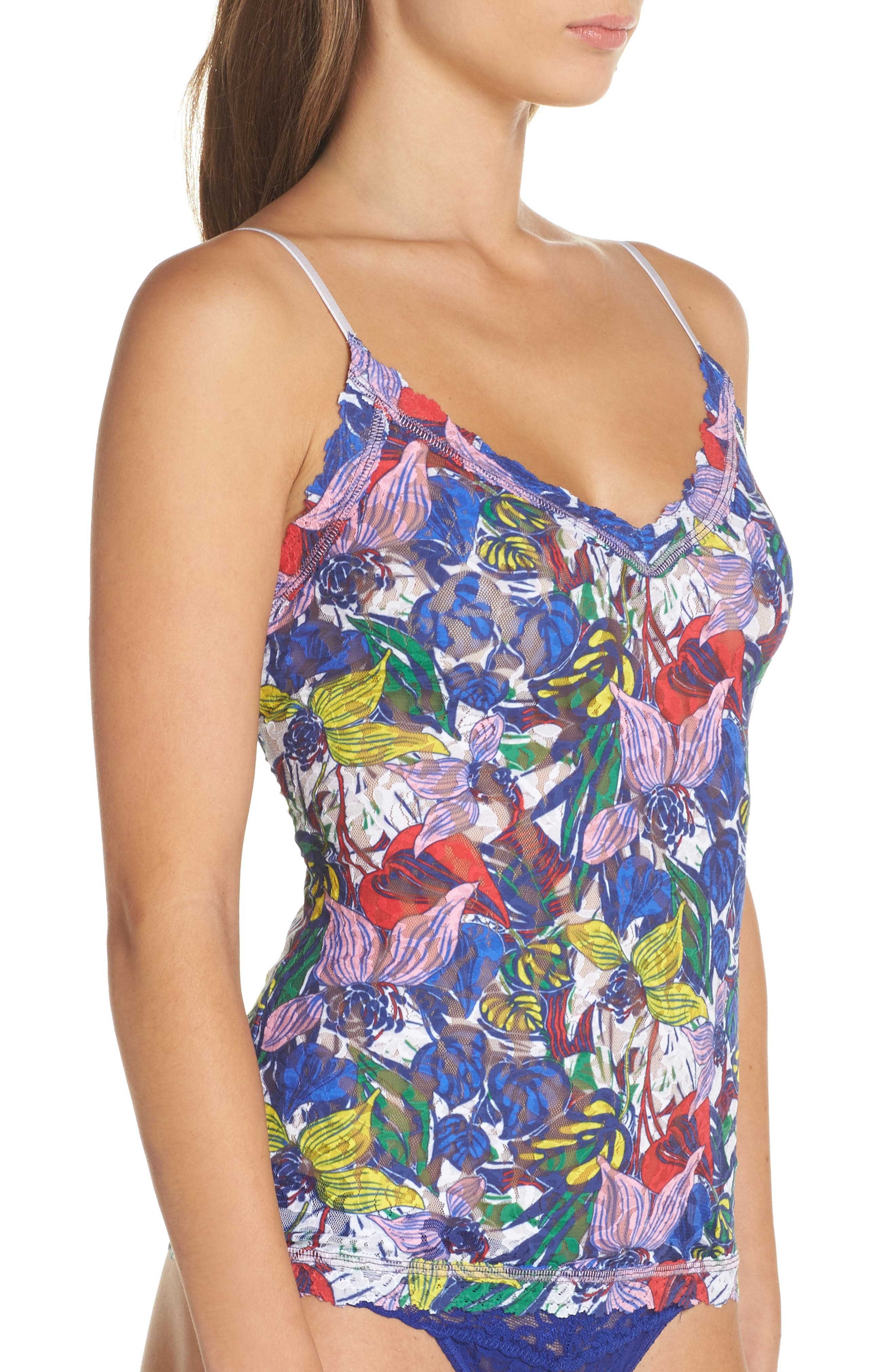 Island Flower Camisole,                             Alternate thumbnail 3, color,                             403