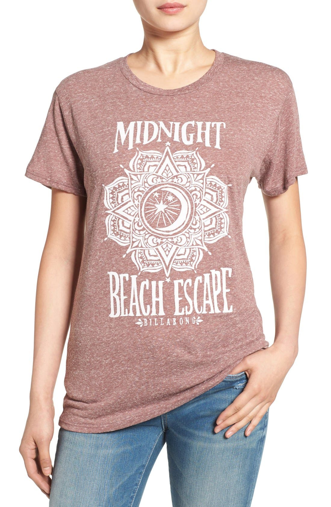 'Midnight Escape' Graphic Tee,                             Main thumbnail 1, color,                             930