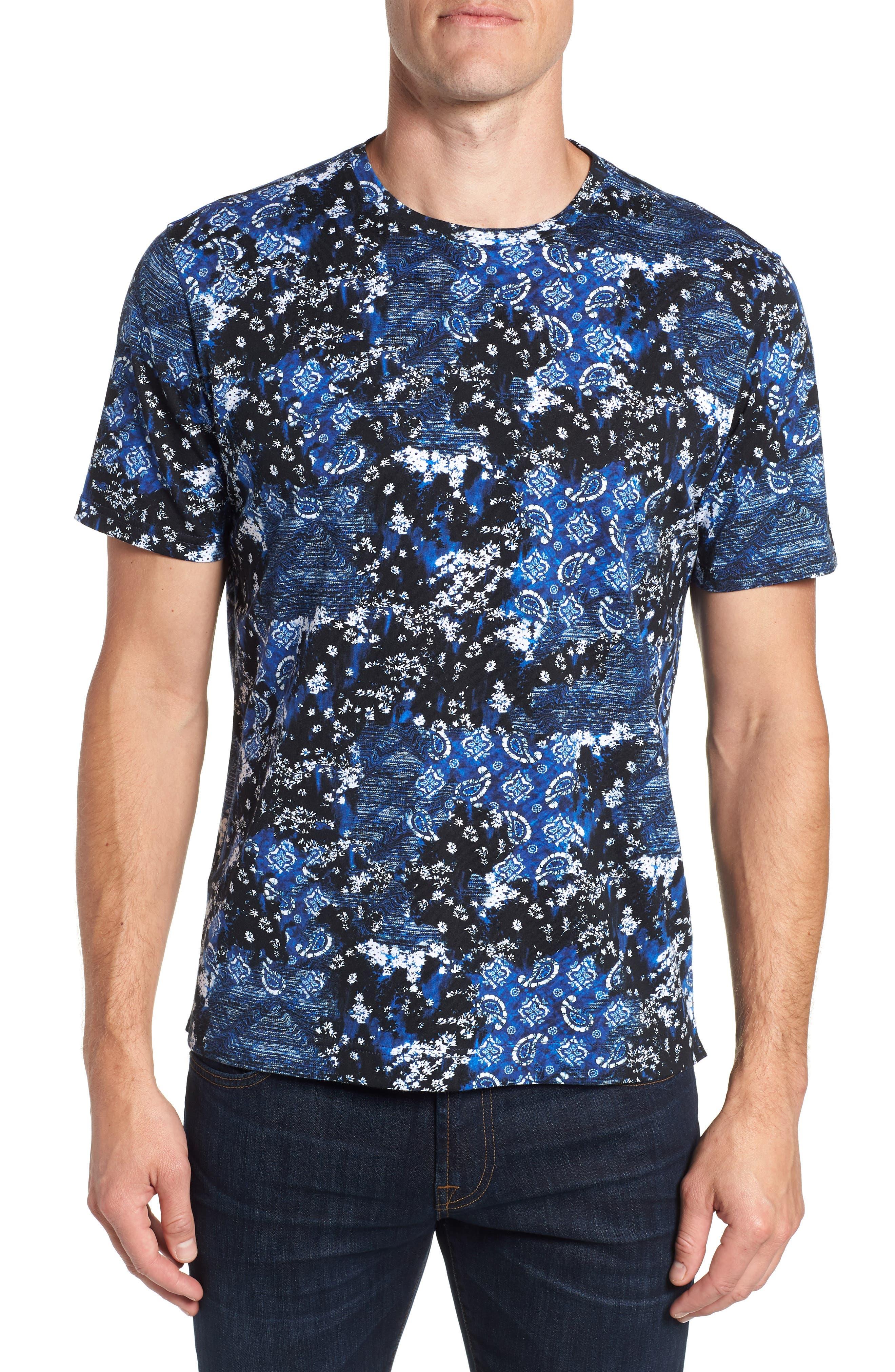 Carvel Rock T-Shirt,                             Main thumbnail 1, color,                             INDIGO