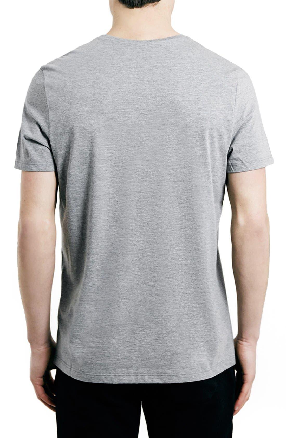 Slim Fit Crewneck T-Shirt,                             Alternate thumbnail 323, color,