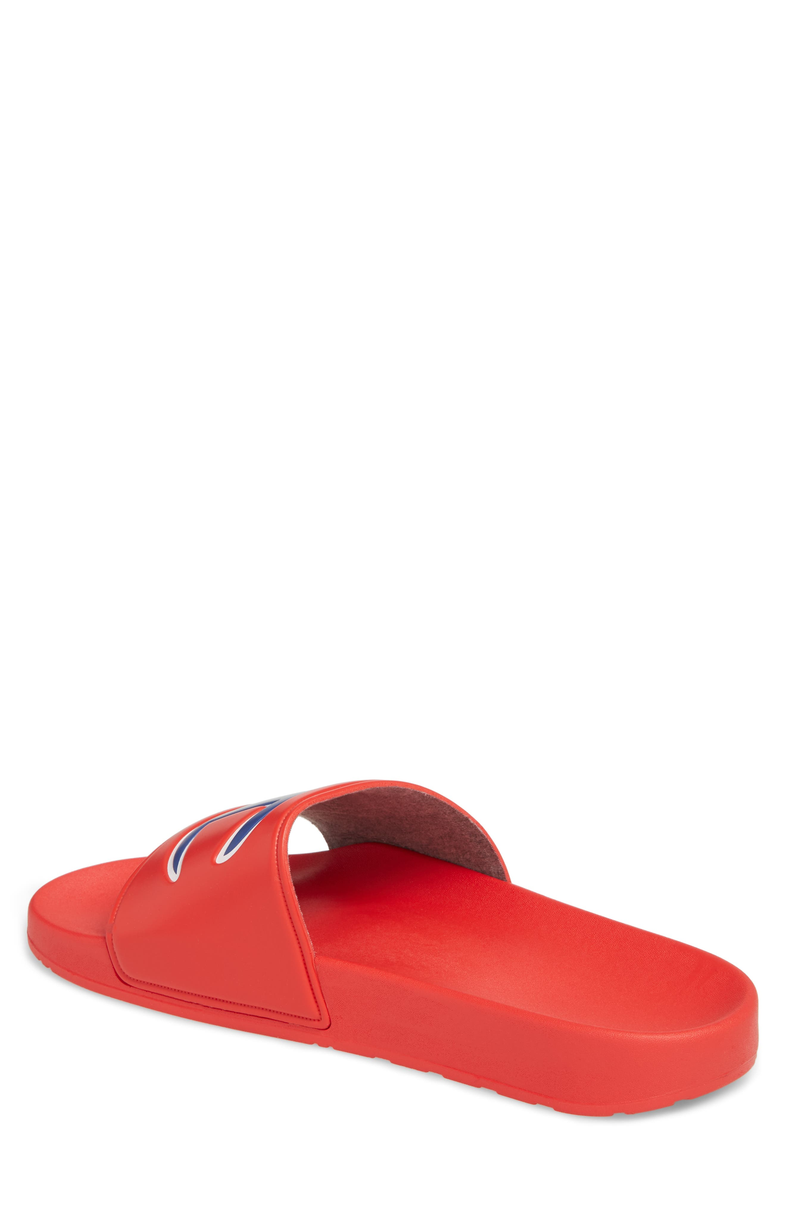 IPO Sports Slide,                             Alternate thumbnail 2, color,                             RED