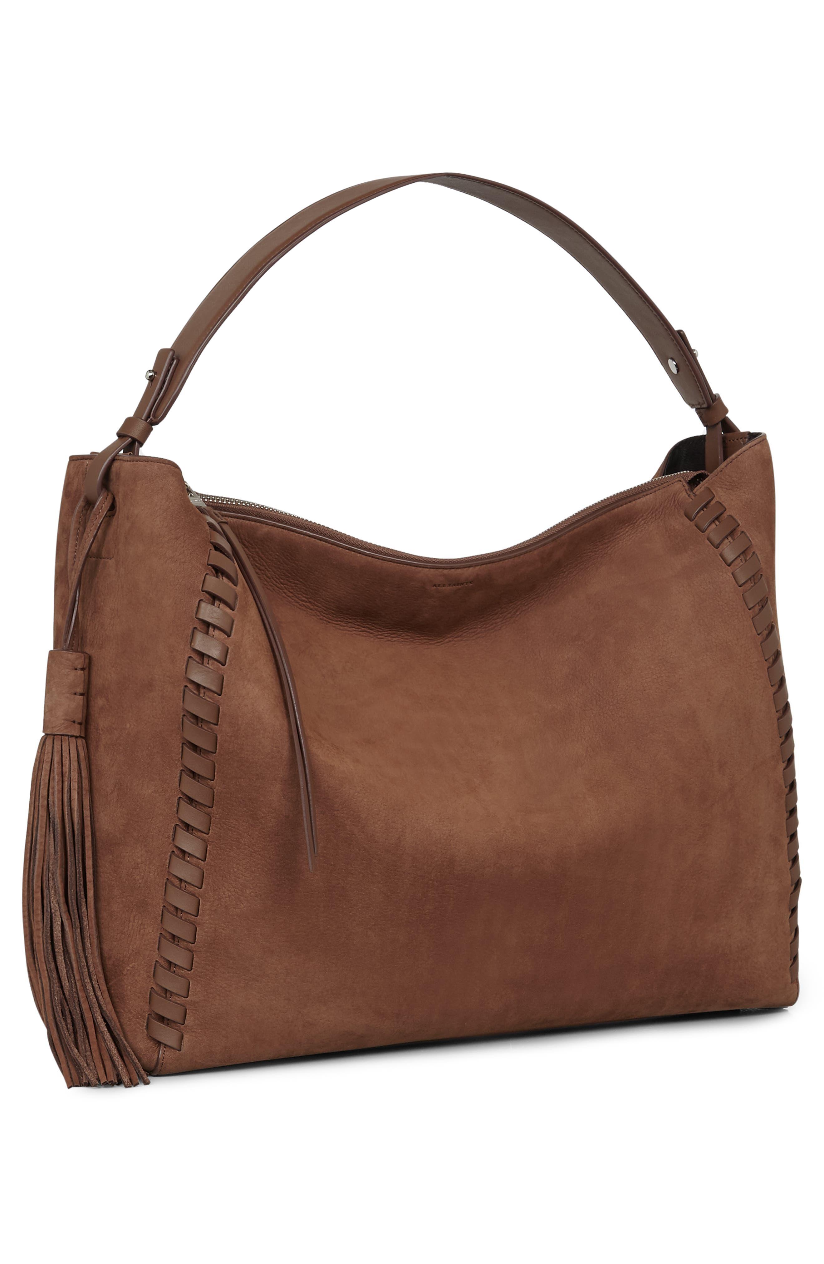 Kepi East/West Leather Shoulder Bag,                             Alternate thumbnail 7, color,                             210