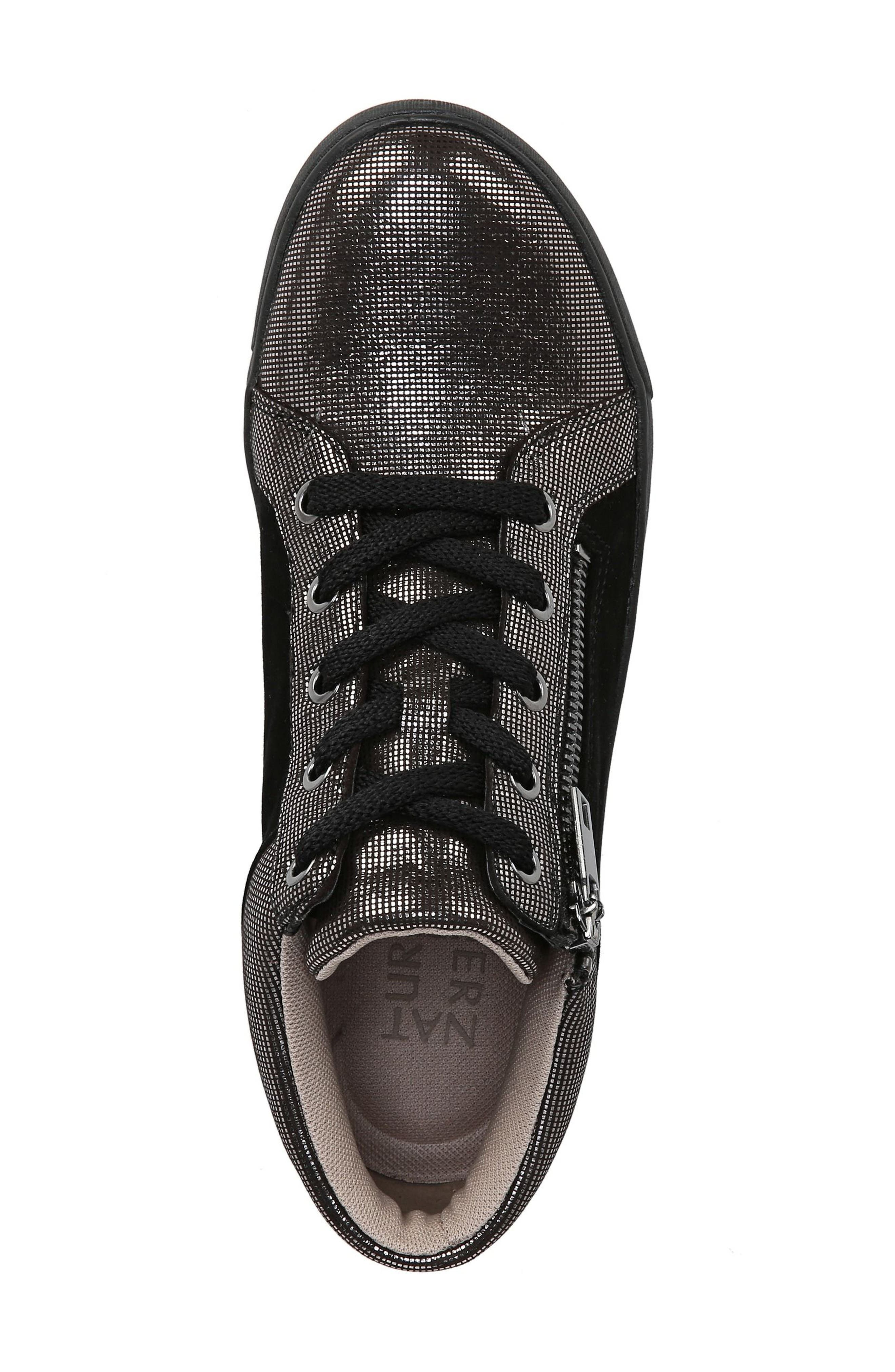 Motley Sneaker,                             Alternate thumbnail 5, color,                             PEWTER SUEDE