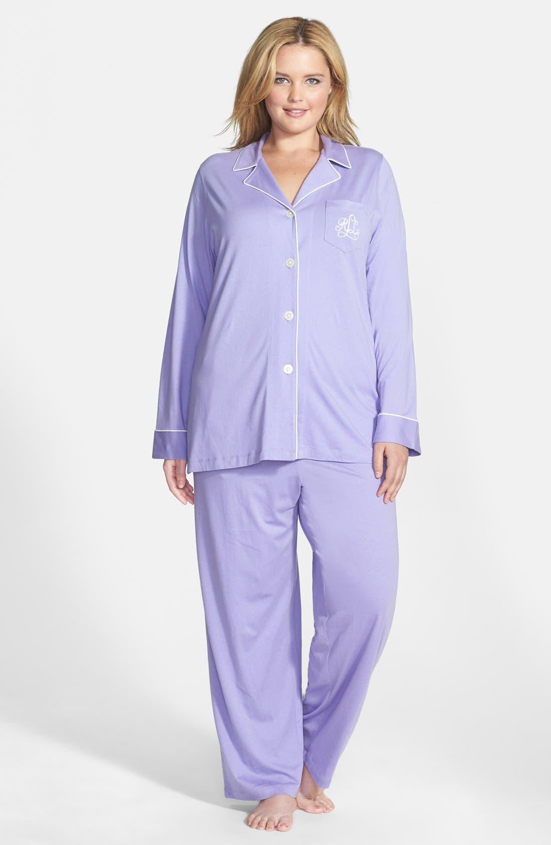 Knit Pajamas,                             Main thumbnail 8, color,