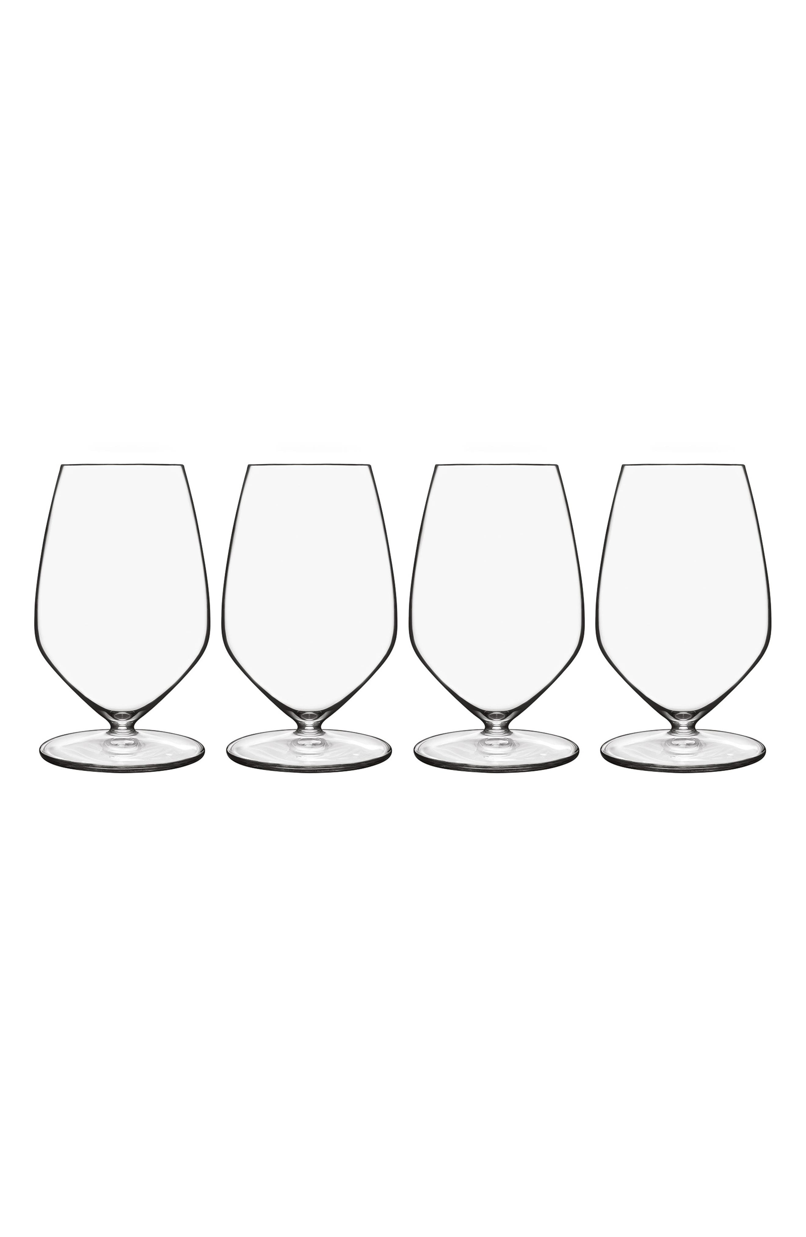 T-Glass Set of 4 Riesling Glasses,                             Main thumbnail 1, color,                             CLEAR
