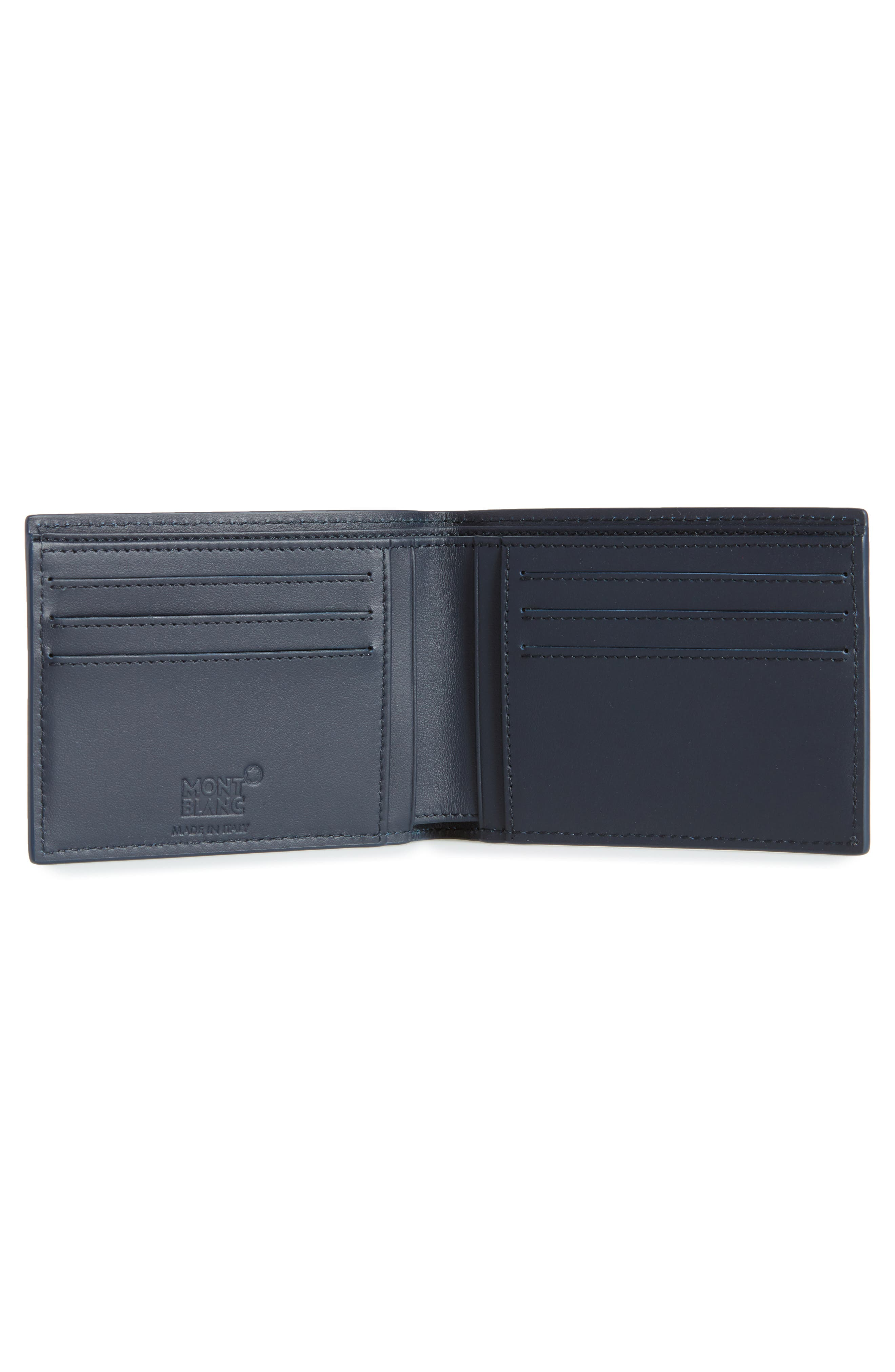 Extreme Bifold Leather Wallet,                             Alternate thumbnail 2, color,                             BLUE