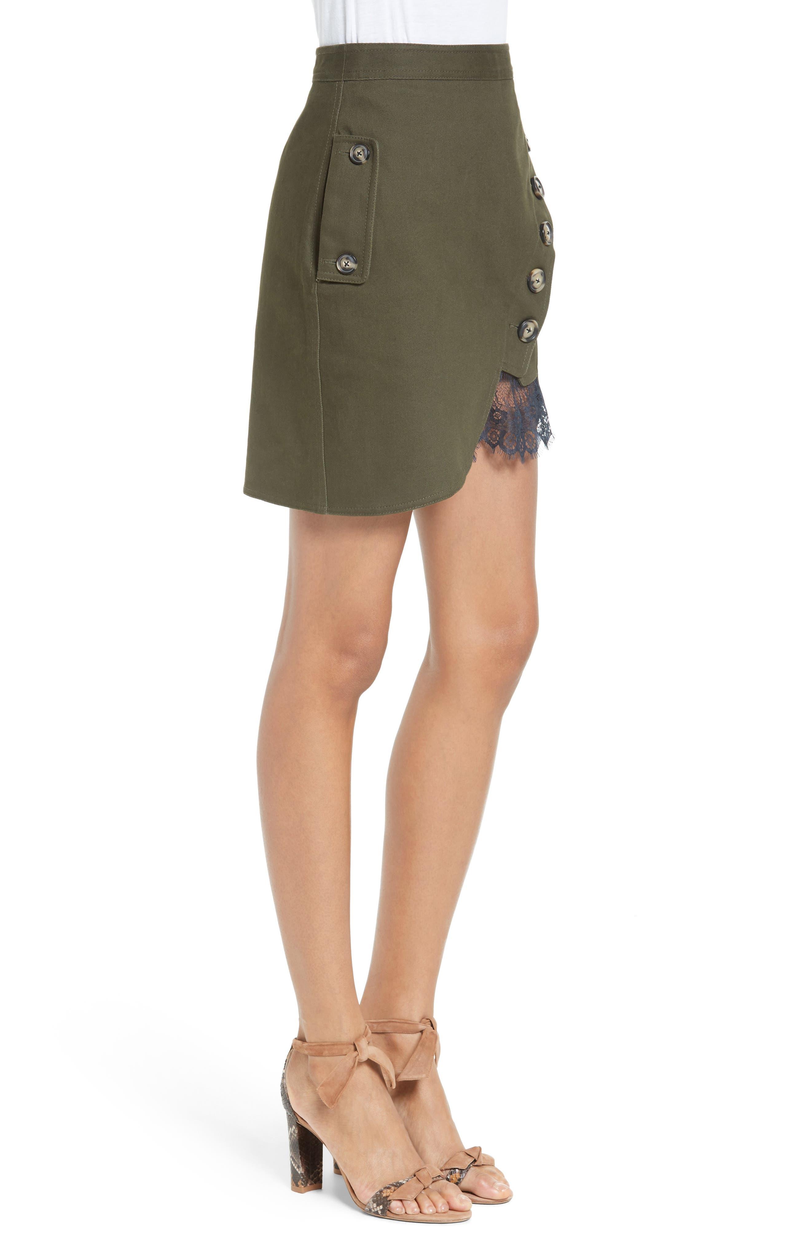 Utility Miniskirt,                             Alternate thumbnail 3, color,                             300