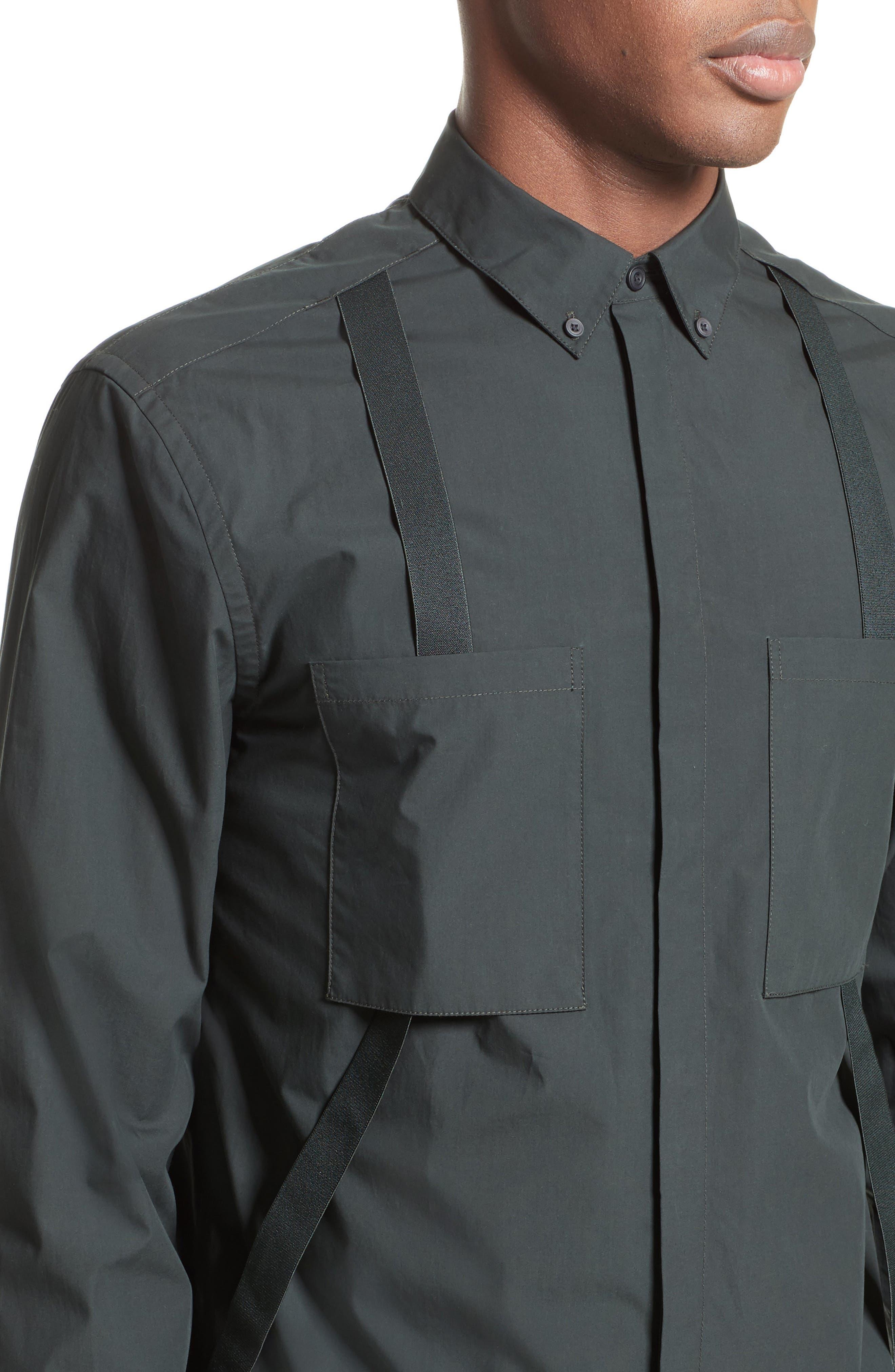 Suspender Shirt,                             Alternate thumbnail 5, color,                             334