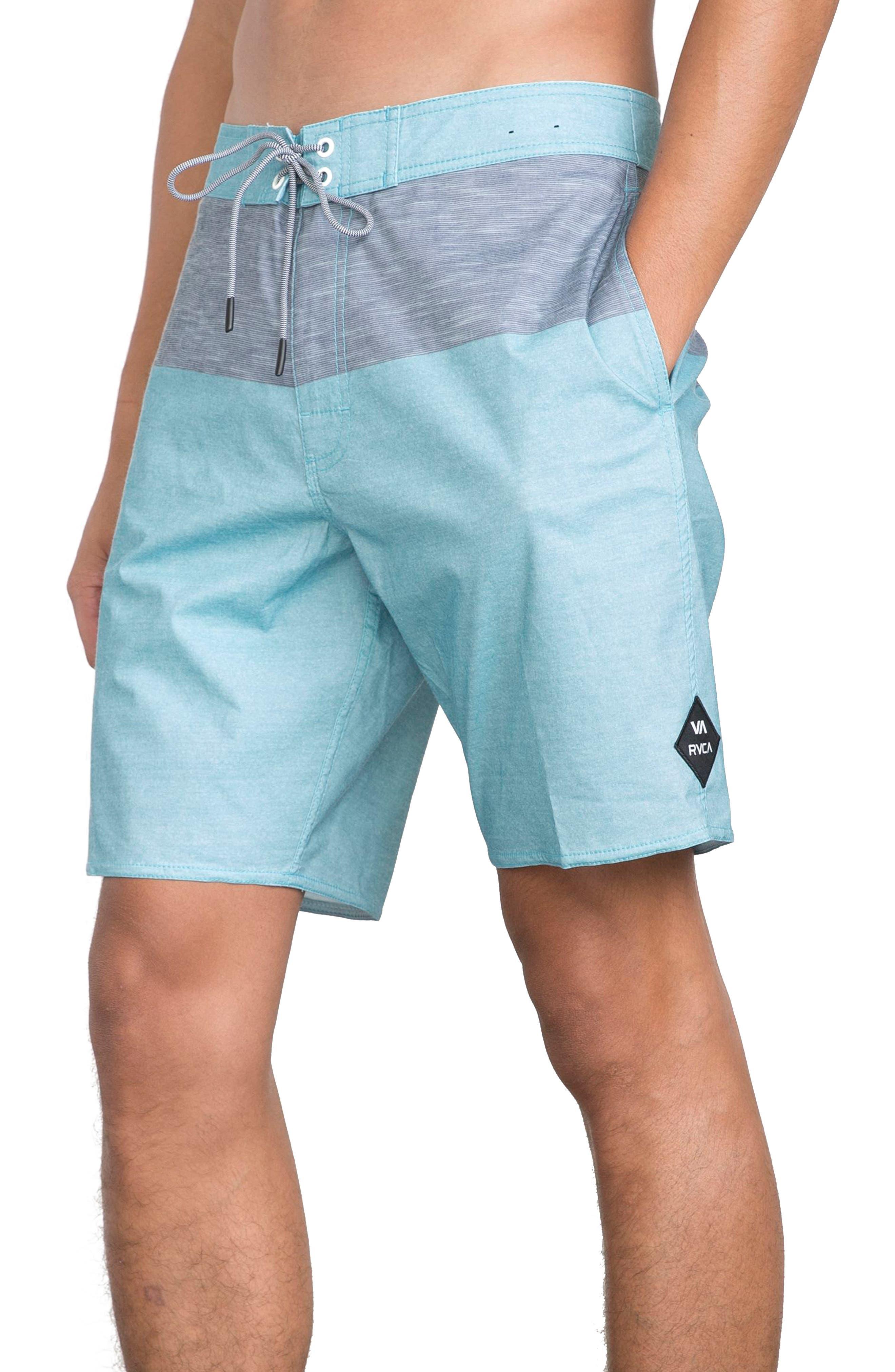 Gothard Board Shorts,                             Alternate thumbnail 3, color,                             MAUI BLUE