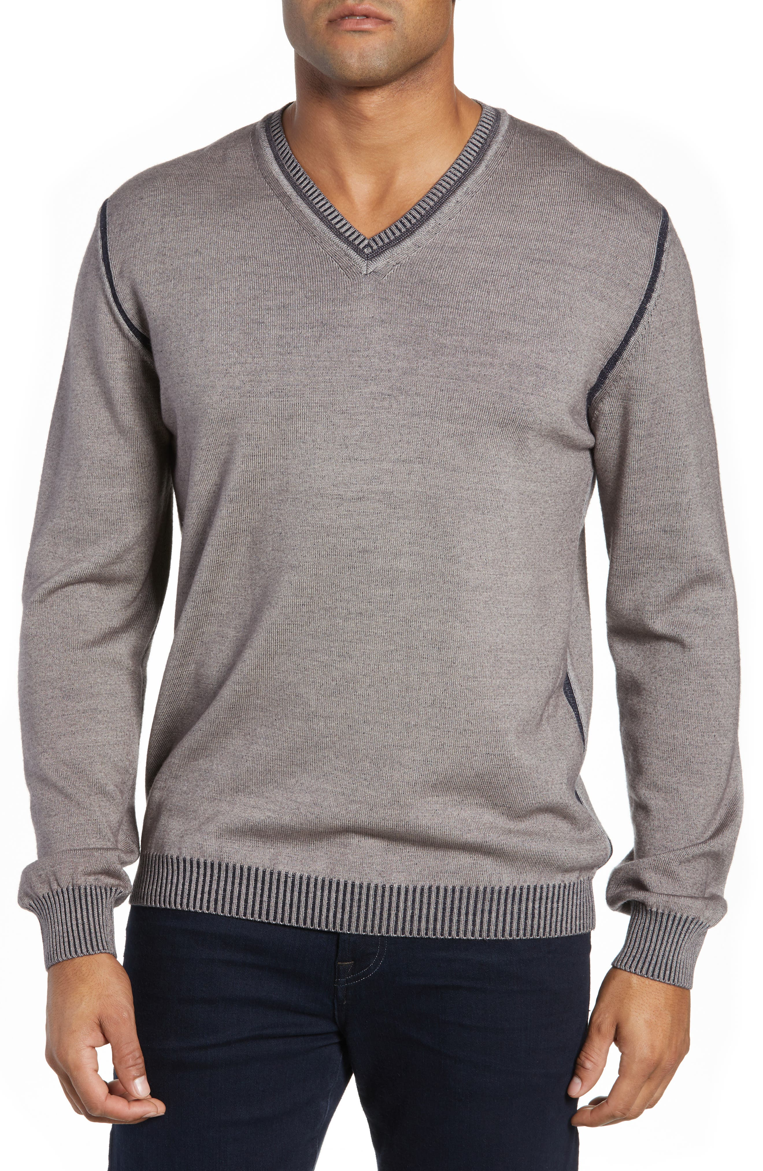 Wool Blend Sweater,                         Main,                         color, TAUPE