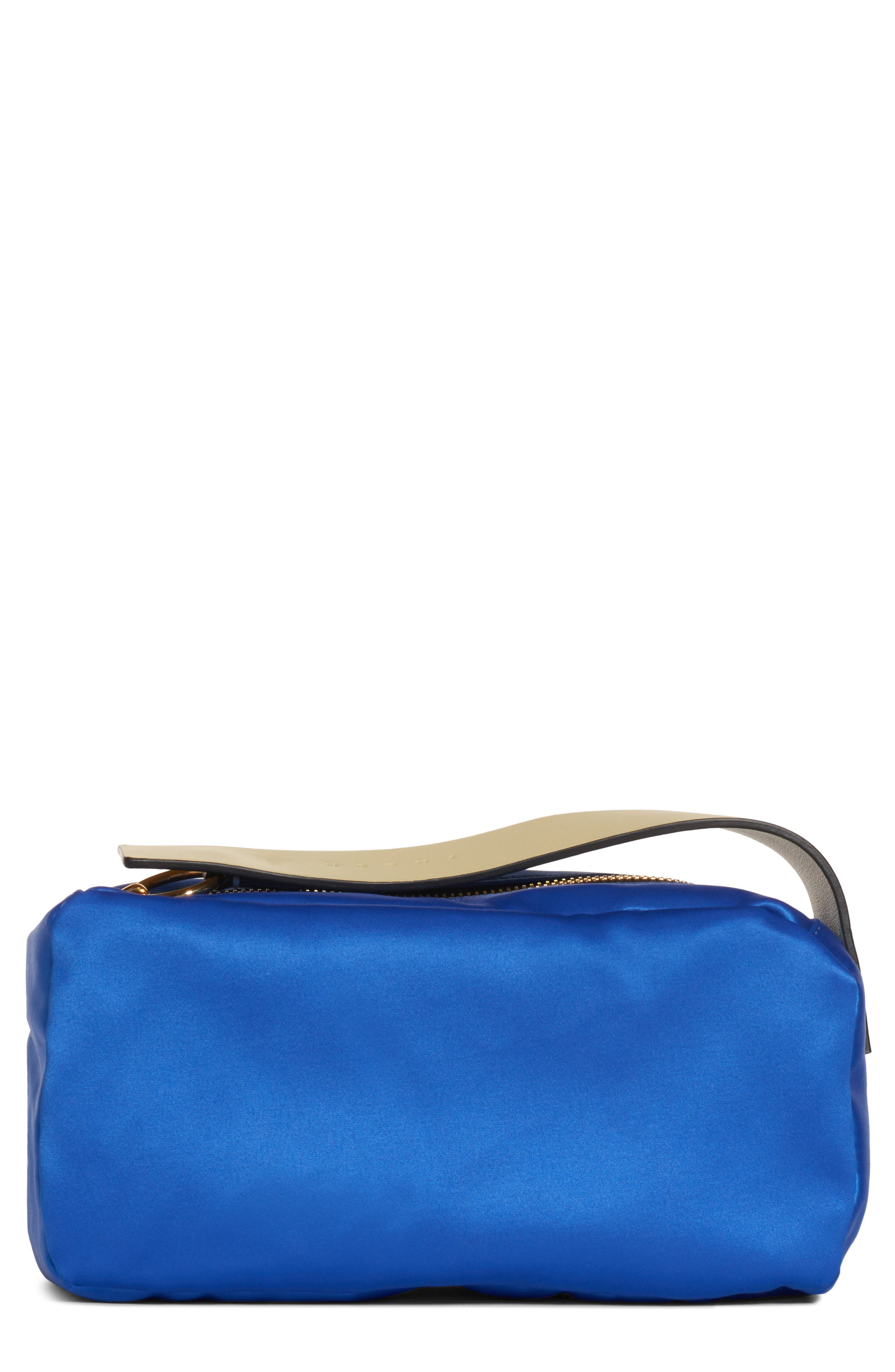 Law Bag Nylon Cosmetics Case in Astral Blue
