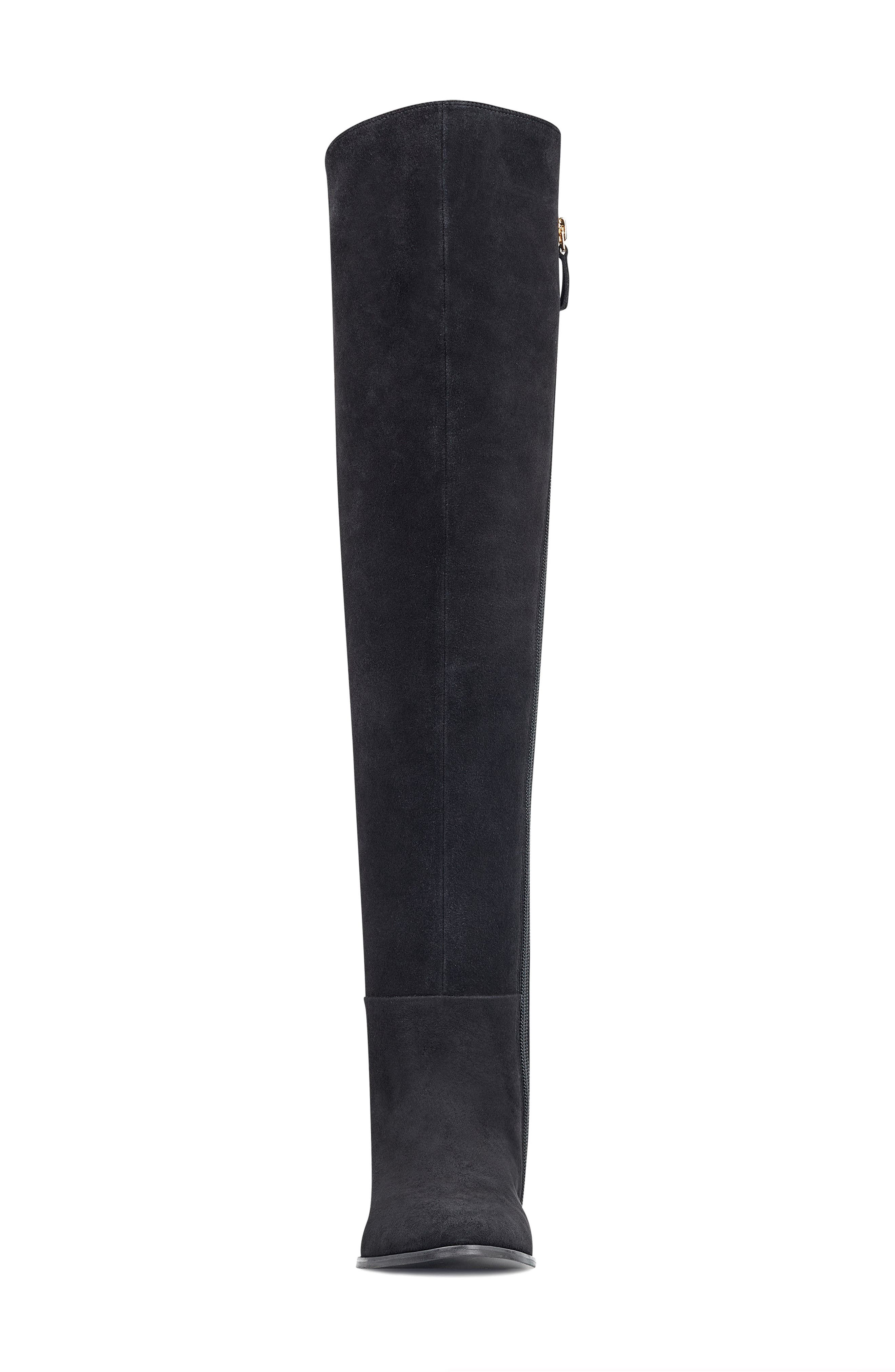 NINE WEST,                             Eltynn Over the Knee Boot,                             Alternate thumbnail 4, color,                             001
