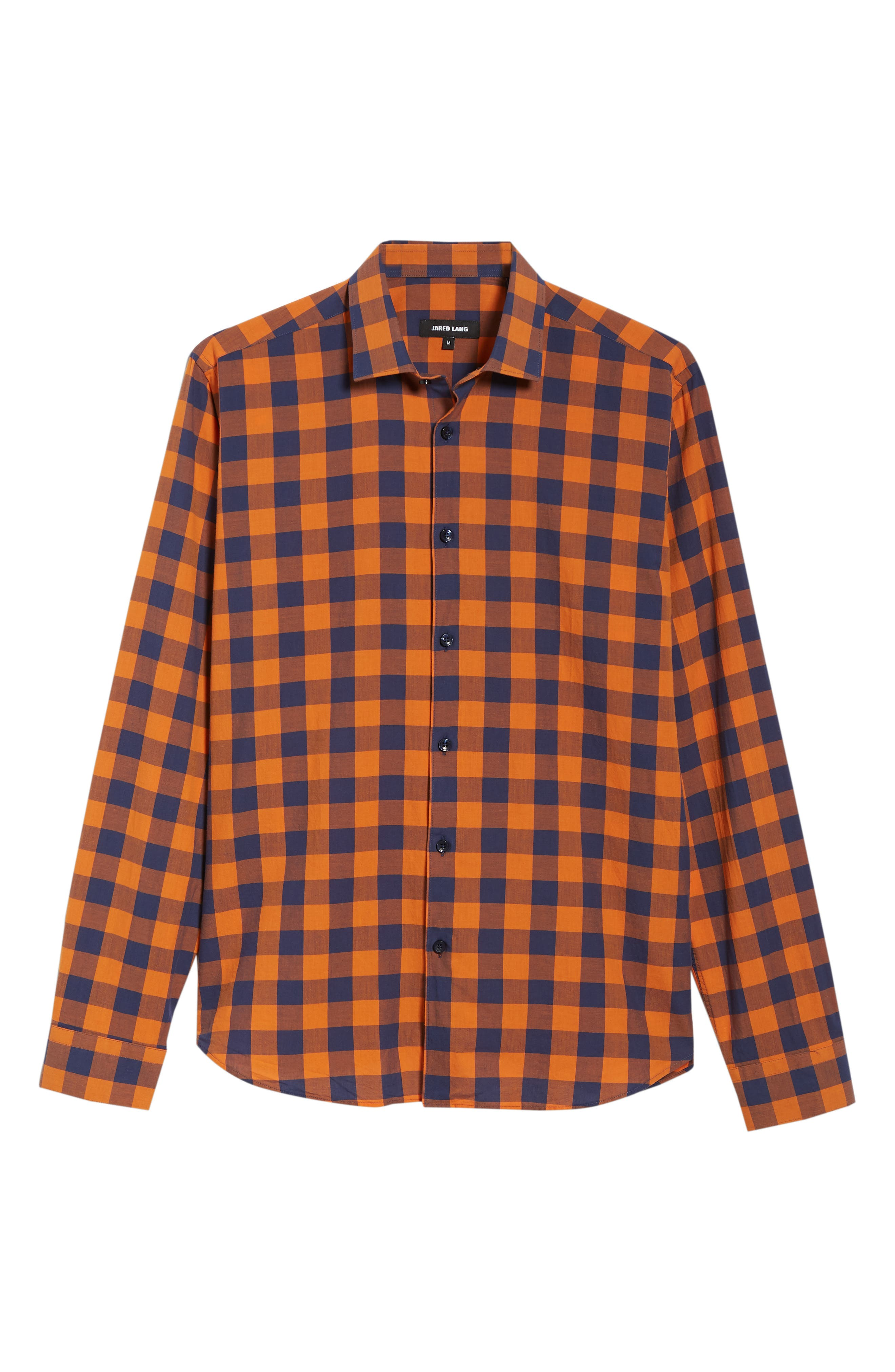 Trim Fit Sport Shirt,                             Alternate thumbnail 5, color,