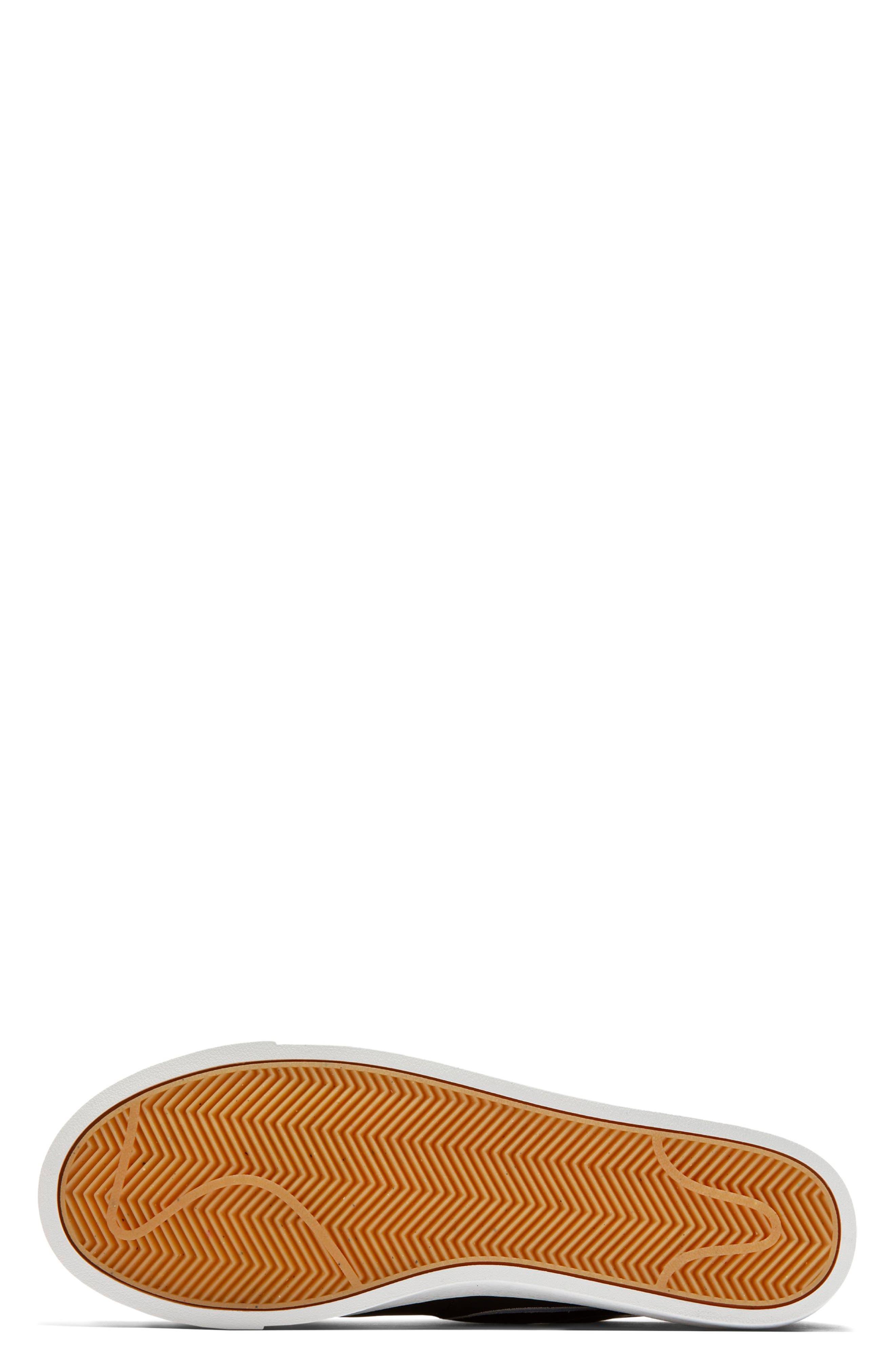 Blazer Low LX Sneaker,                             Alternate thumbnail 5, color,                             BLACK/ ROYAL TINT/ MONARCH