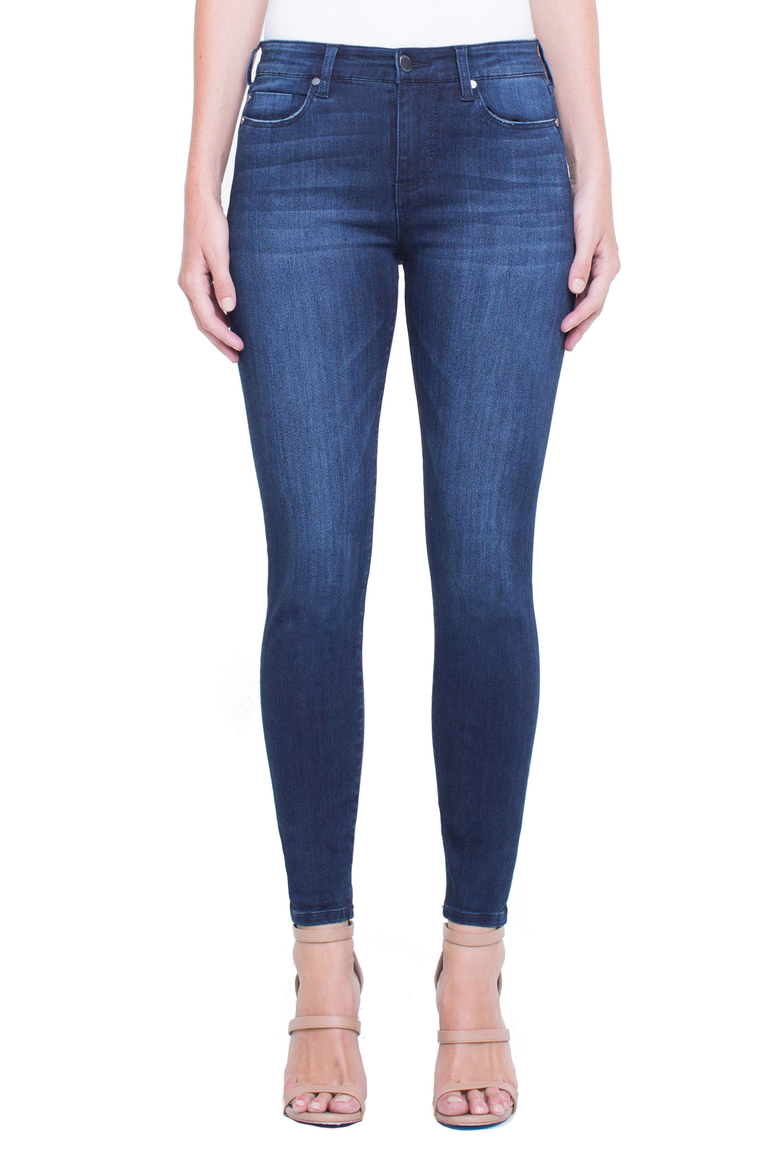 Jeans Company Penny Ankle Skinny Jeans,                             Main thumbnail 1, color,                             WESTPORT WASH