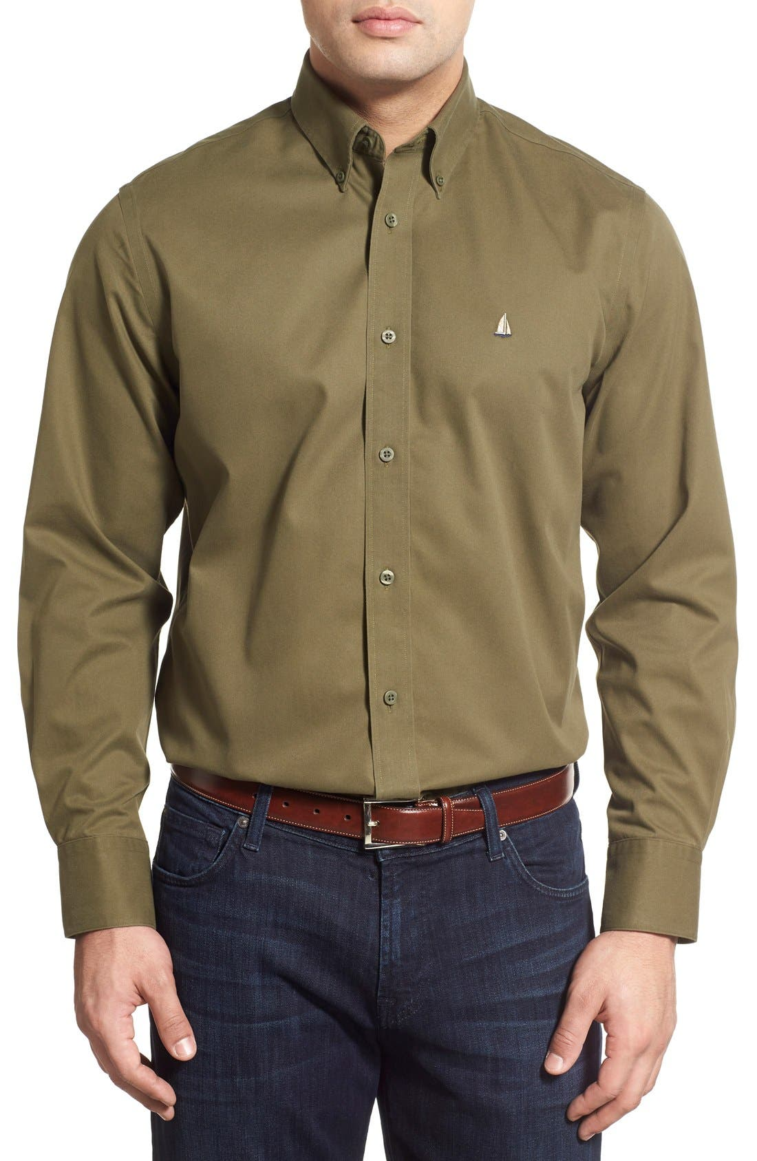 Smartcare<sup>™</sup> Traditional Fit Twill Boat Shirt,                             Main thumbnail 18, color,