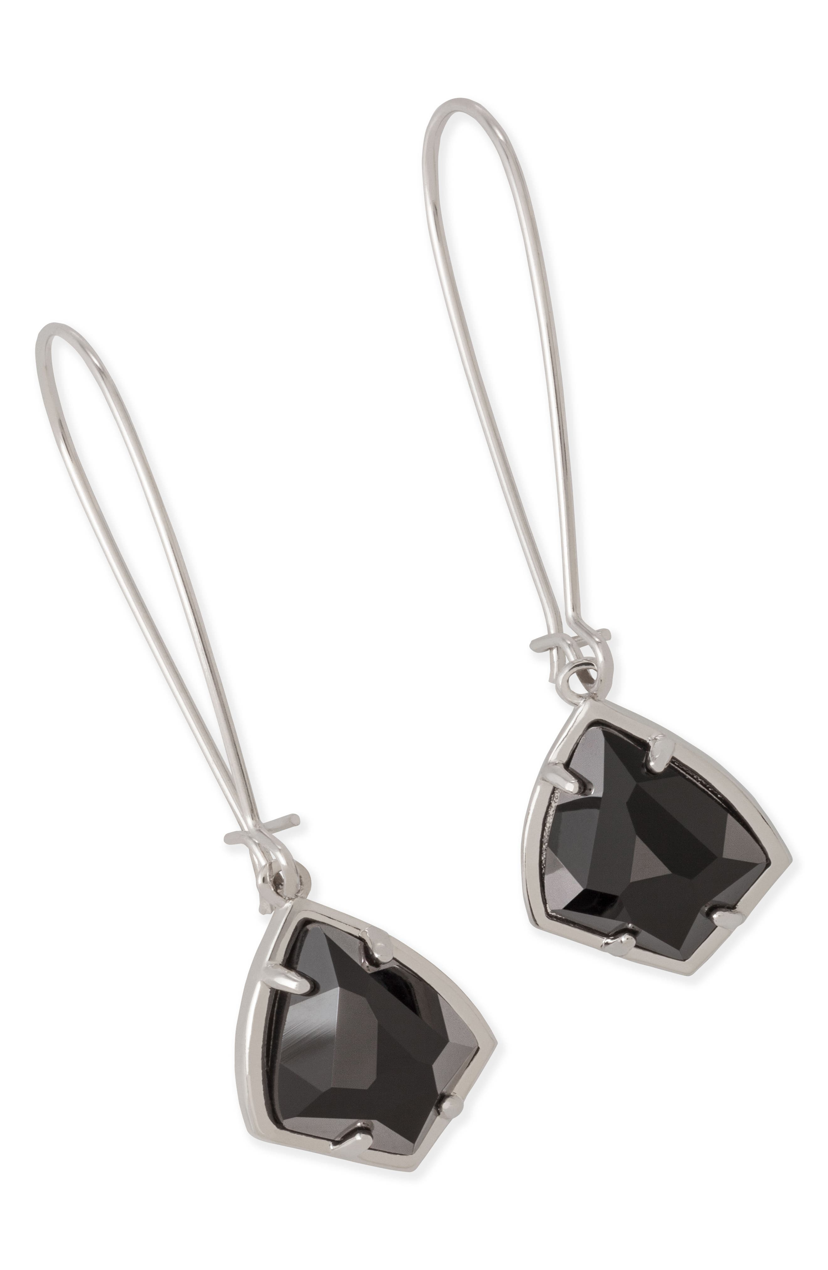 'Carrine' Semiprecious Stone Drop Earrings,                             Alternate thumbnail 29, color,