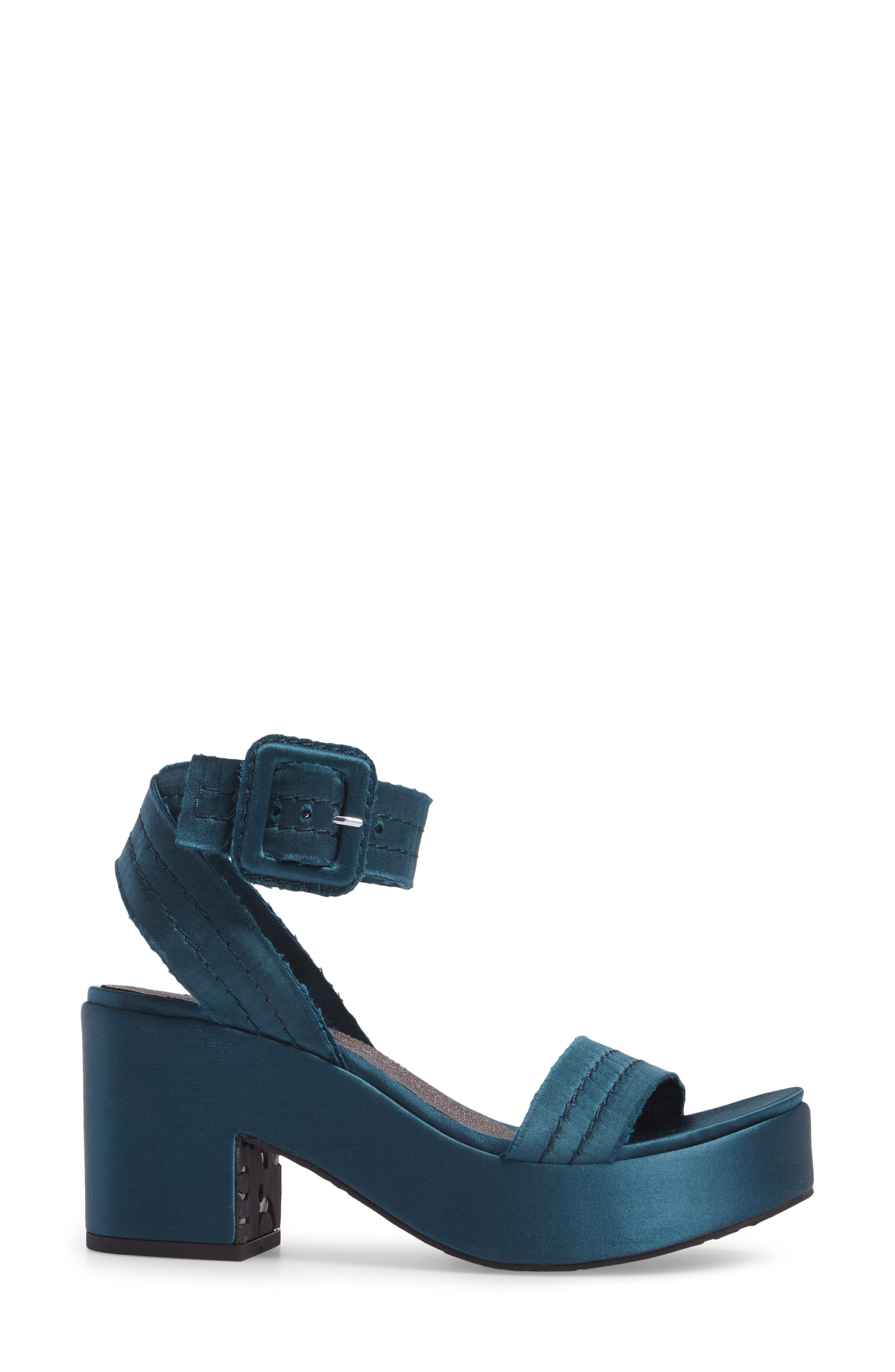 Davida Platform Sandal,                             Alternate thumbnail 3, color,                             400