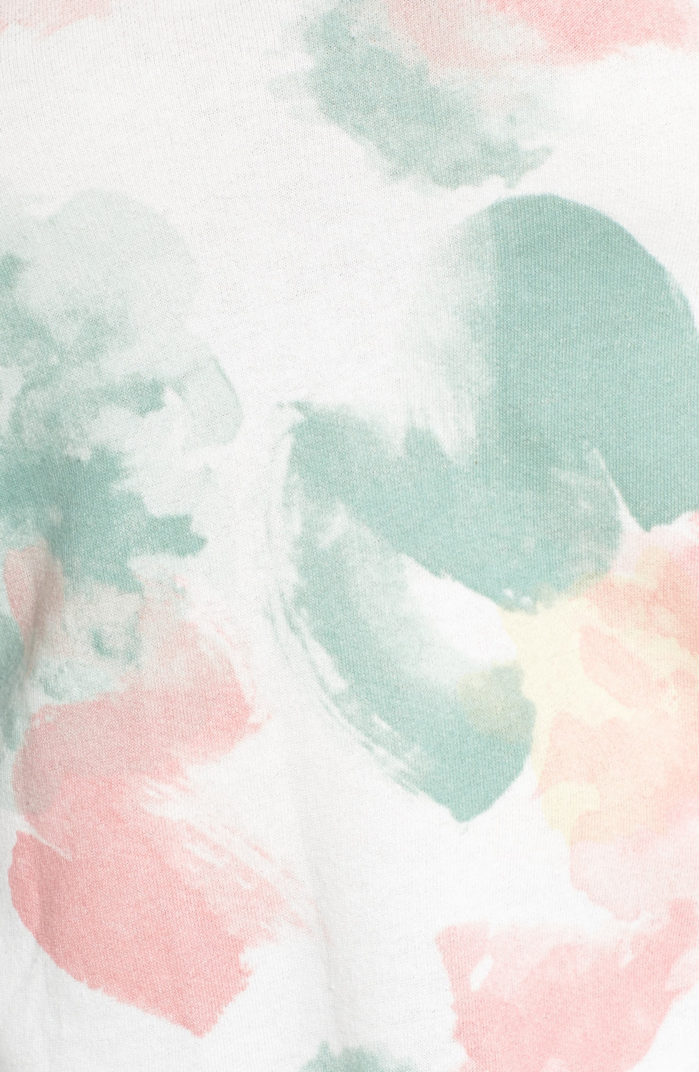 Blouson Sleeve Sweatshirt,                             Alternate thumbnail 5, color,                             900