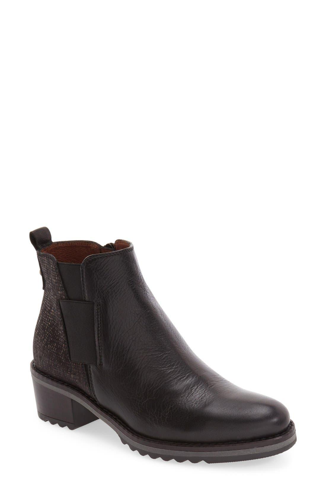 'Lourdes' Chelsea Boot,                         Main,                         color, 001