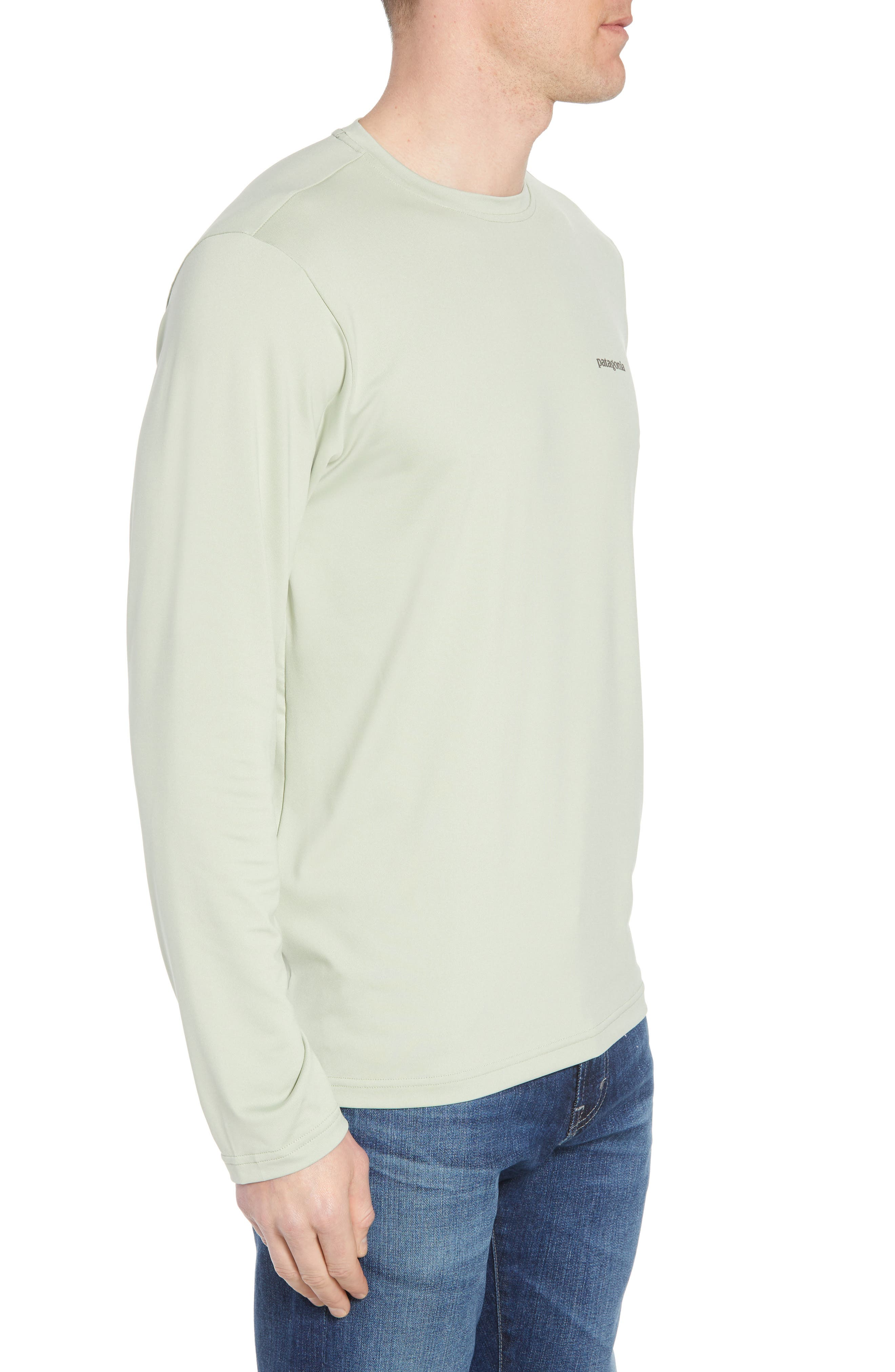Tech Fish Graphic Long Sleeve T-Shirt,                             Alternate thumbnail 10, color,