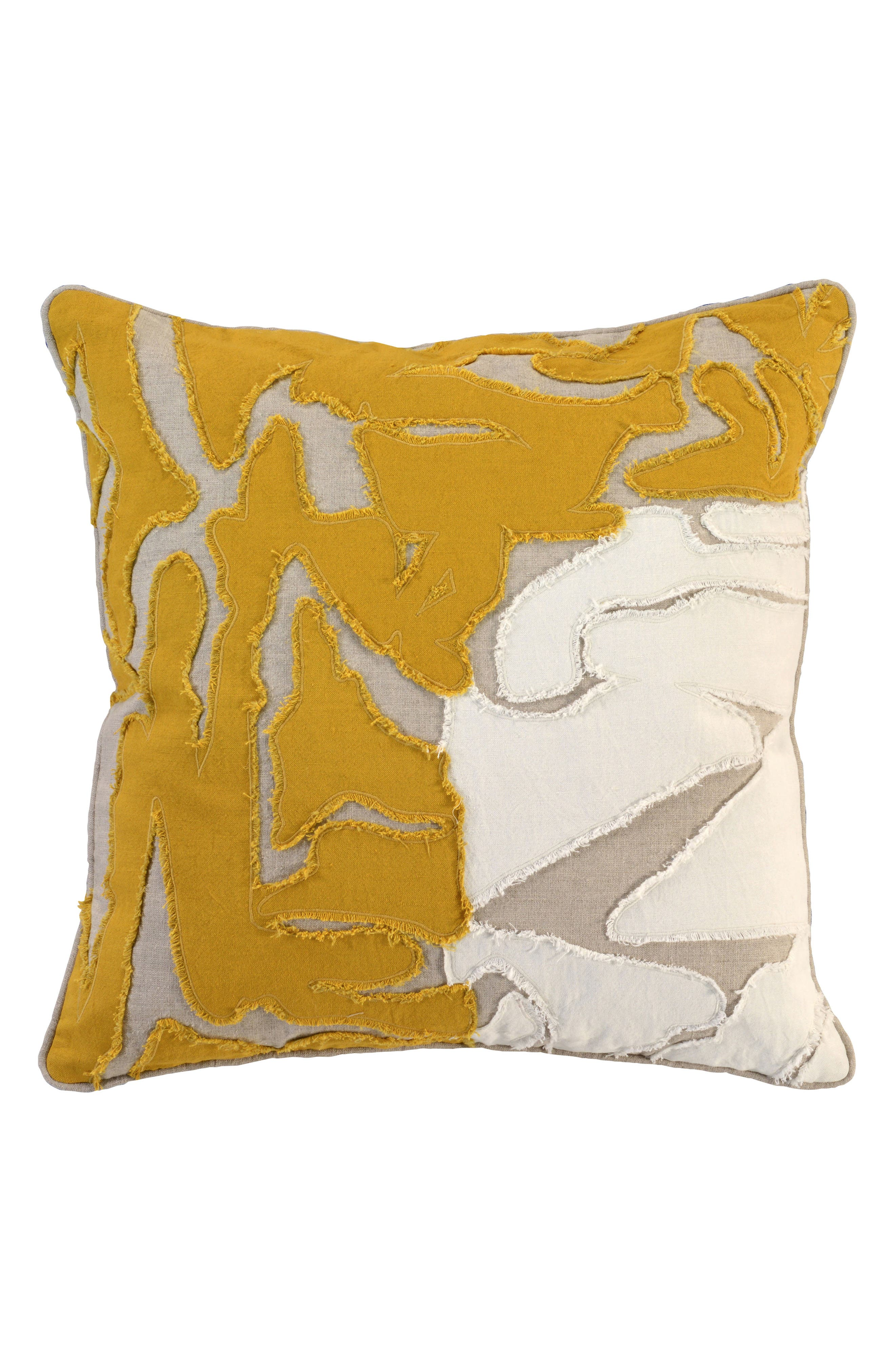 Jemma Accent Pillow,                         Main,                         color, OCHRE
