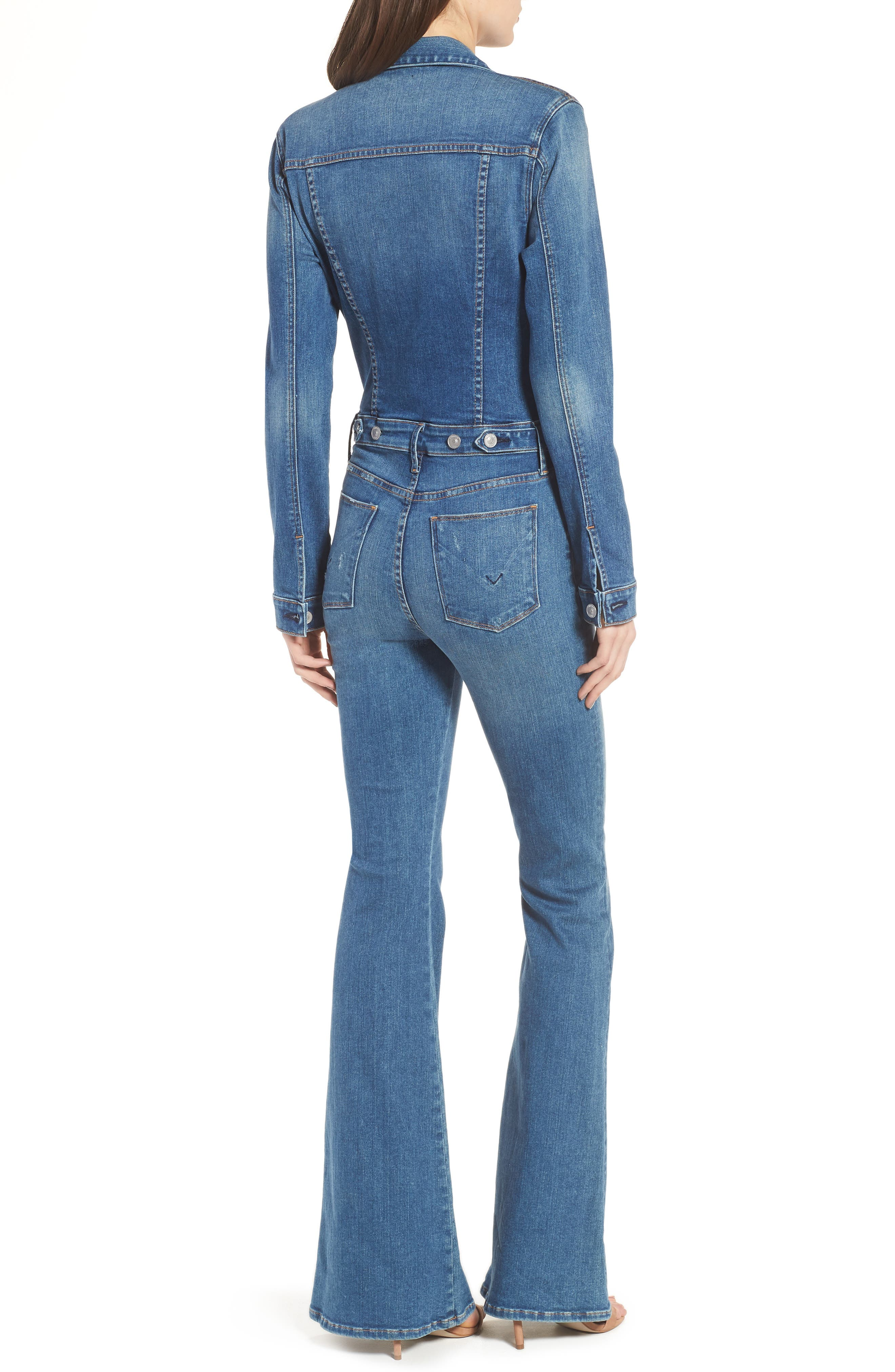 Holly Long Sleeve Coveralls,                             Alternate thumbnail 2, color,