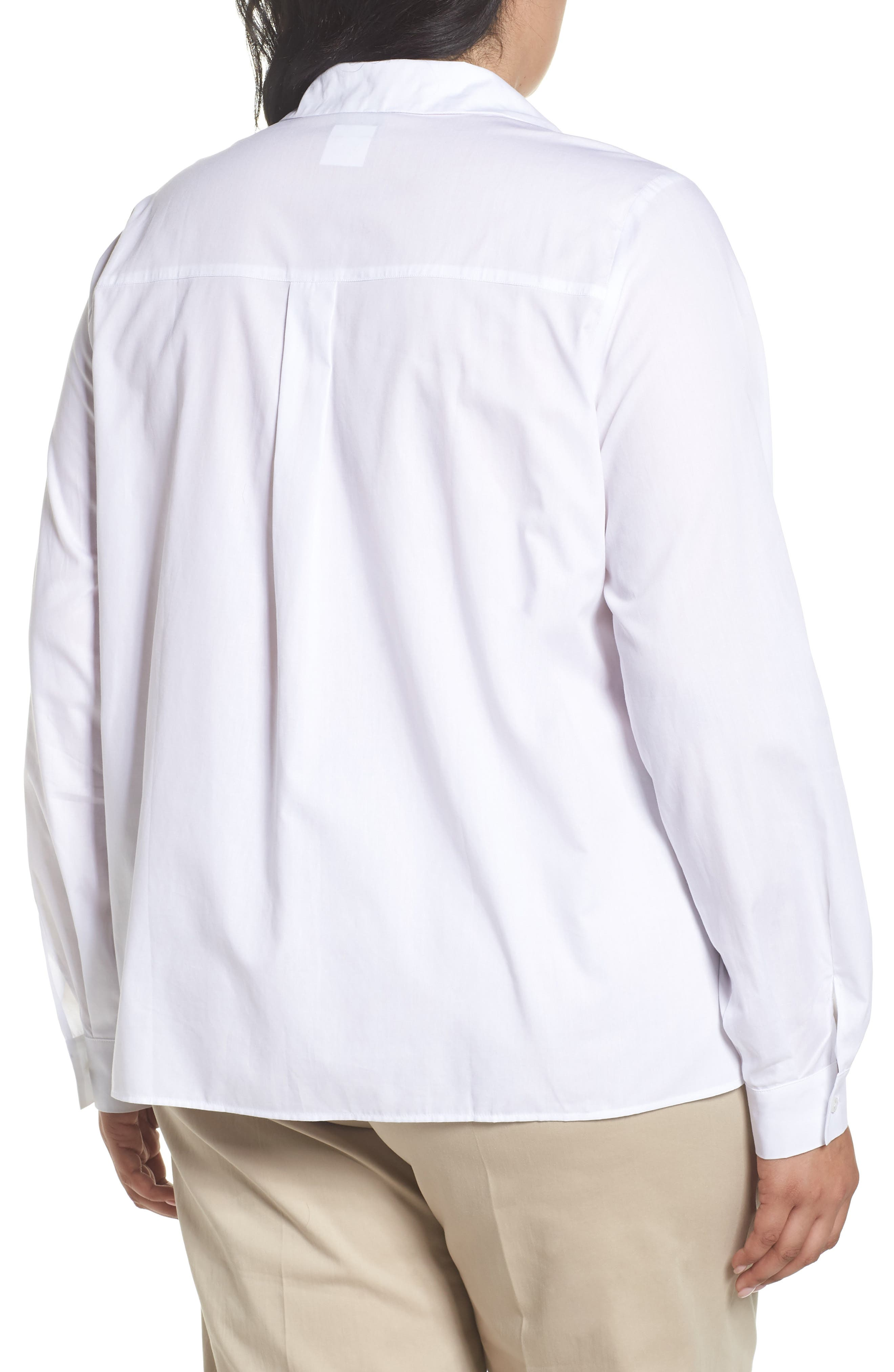 Button Front Shirt,                             Alternate thumbnail 2, color,